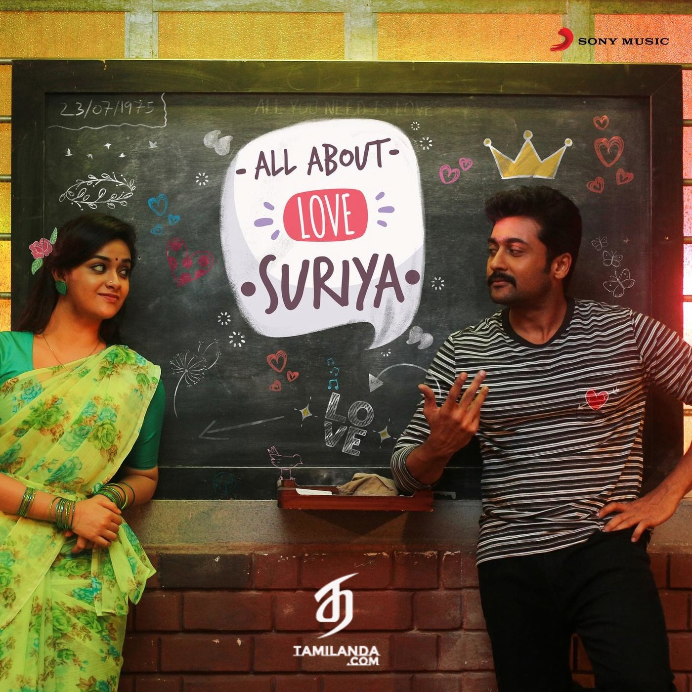 All About Love: Suriya FLAC Songs [Compilation]