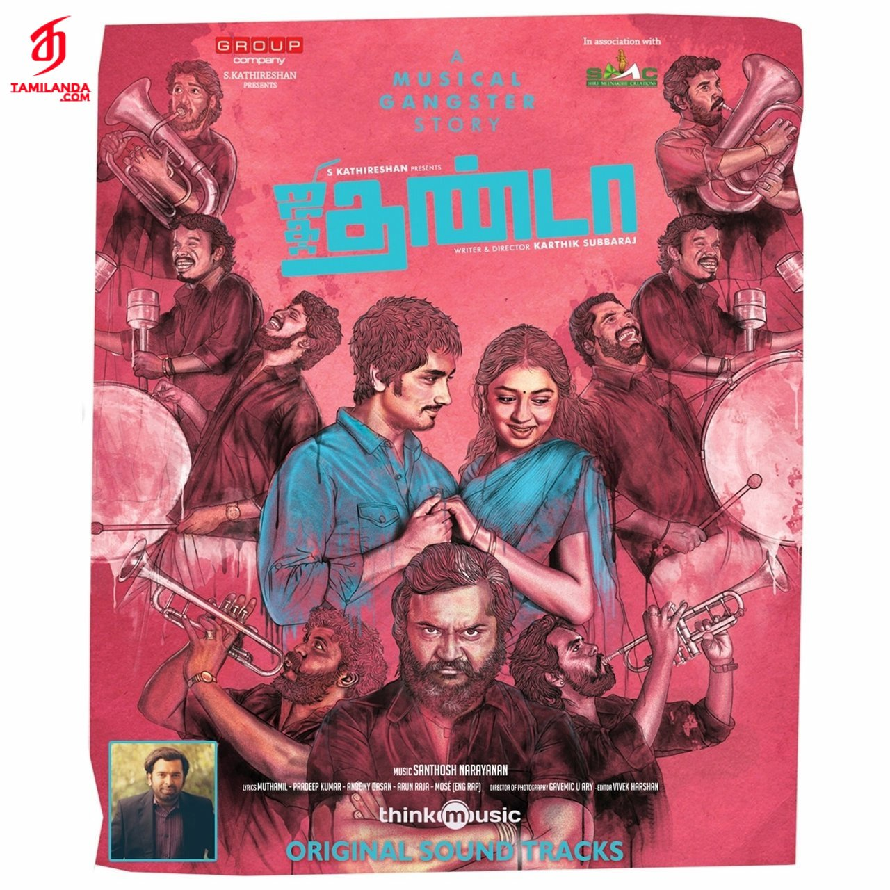 Jigarthanda (Original Background Scores) in FLAC
