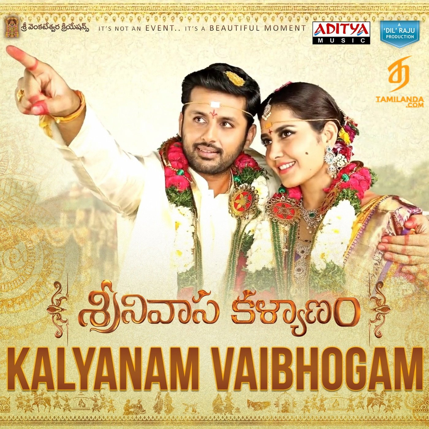 "Kalyanam Vybhogam (From ""Srinivasa Kalyanam"") FLAC / WAV Single Song"