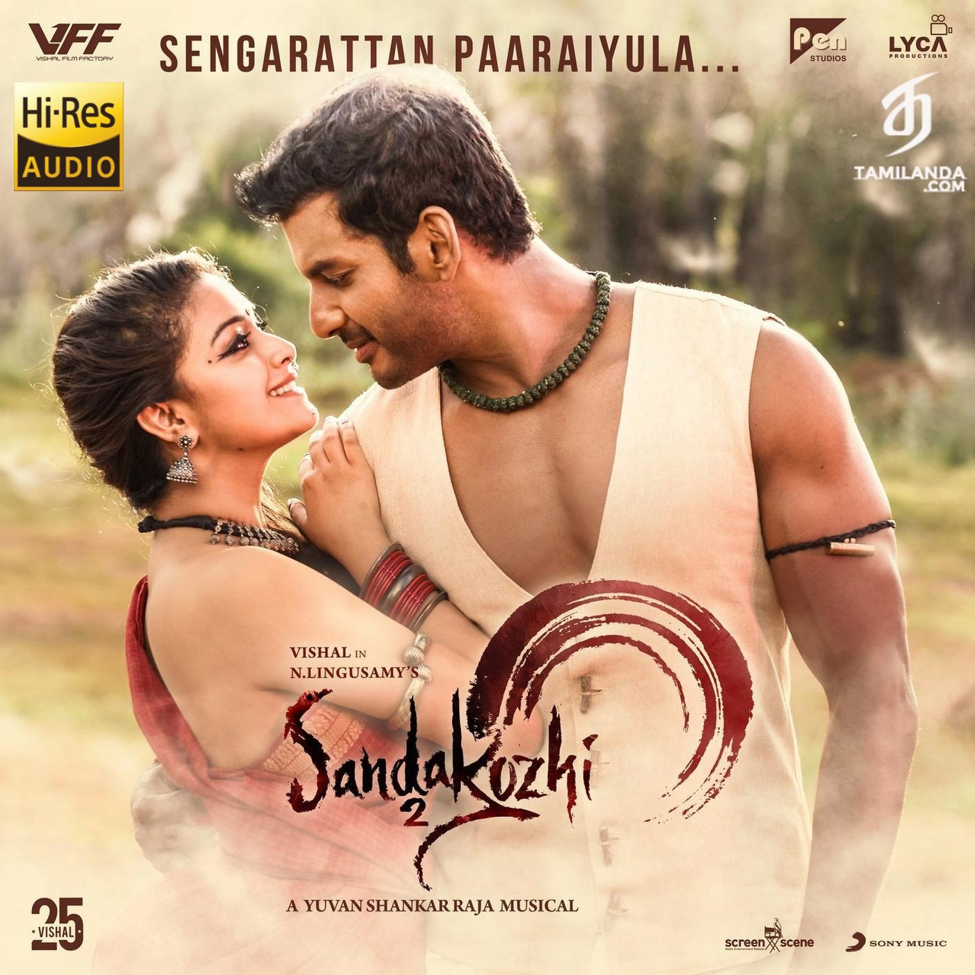 "Sengarattan Paaraiyula (From ""Sandakozhi 2"") – Single 24 BIT 48 KHZ FLAC Song"