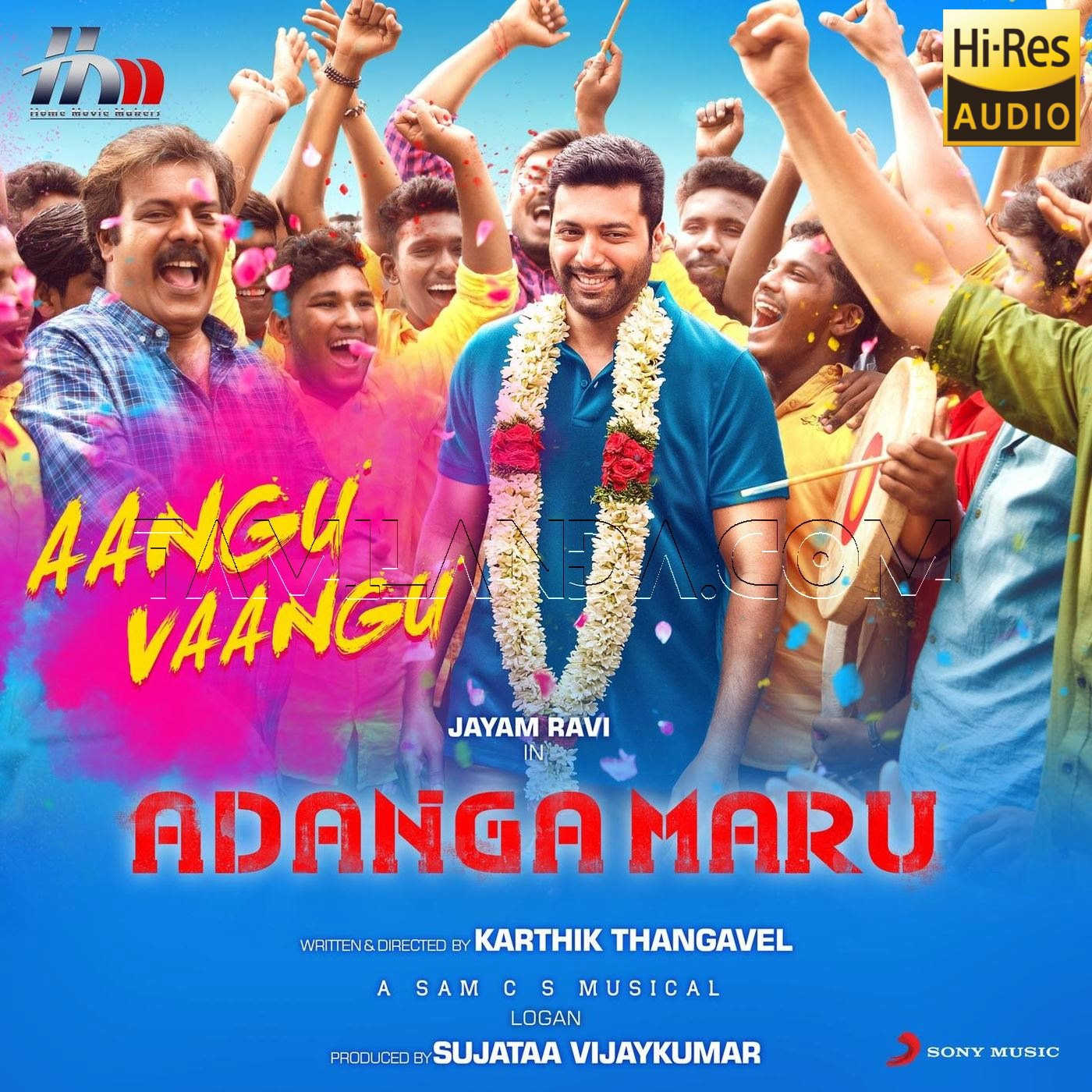 Aangu Vaangu (From Adanga Maru) – Single 24 BIT Song