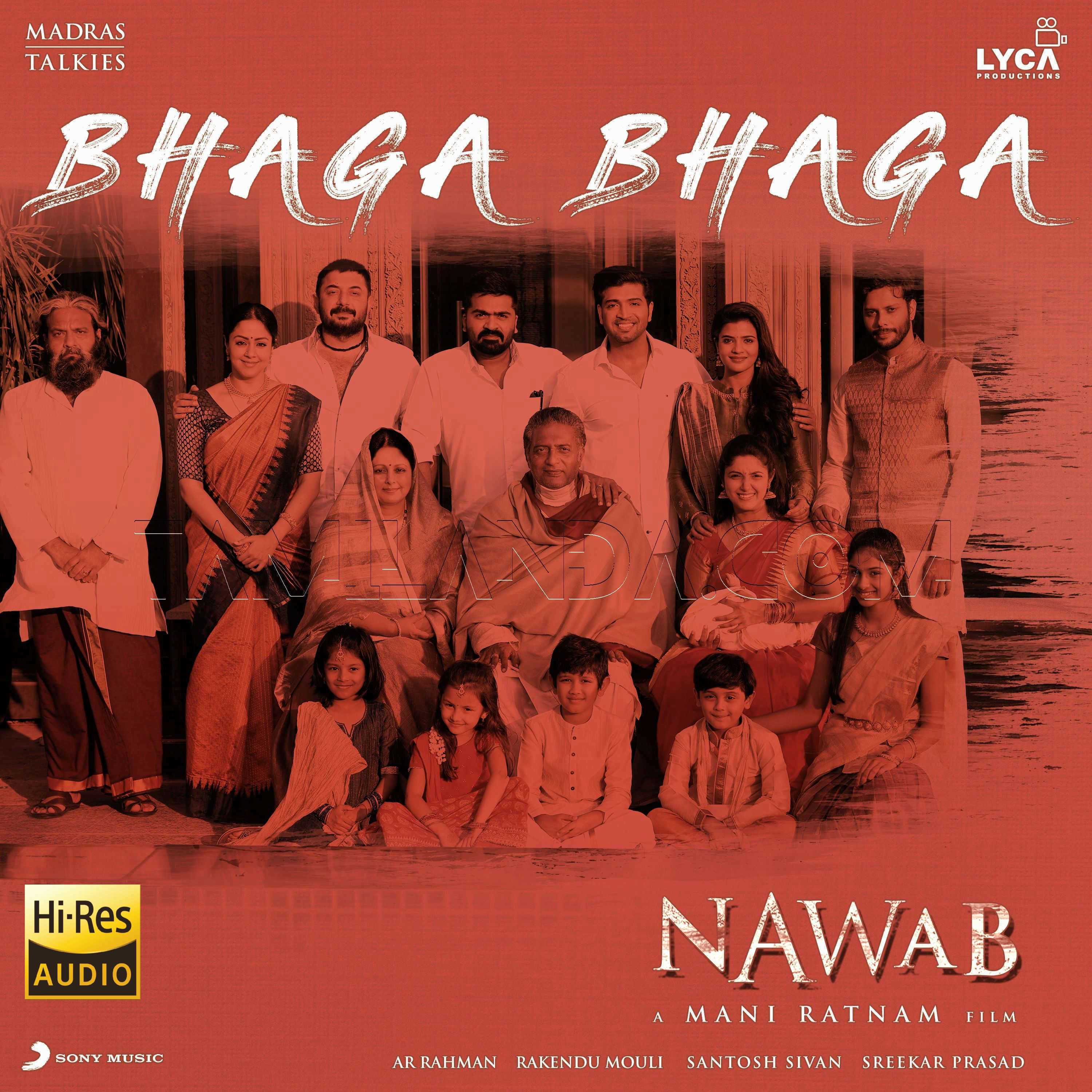 "Bhaga Bhaga (From ""Nawab"") – Single 24 BIT FLAC Song"
