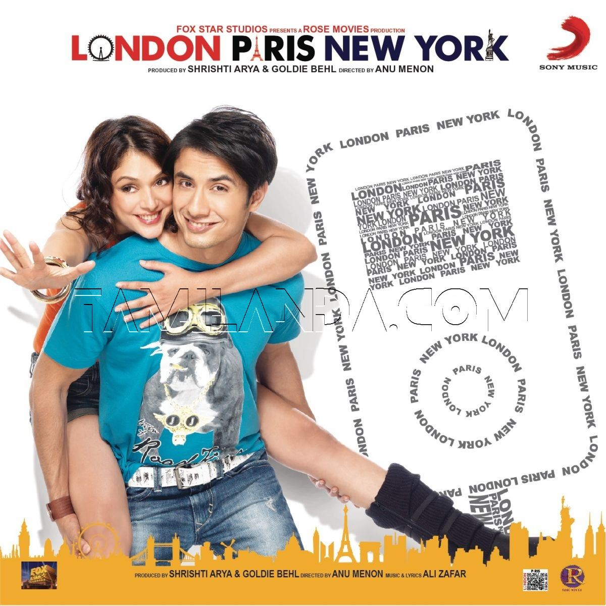 London, Paris, New York (2012) FLAC Songs