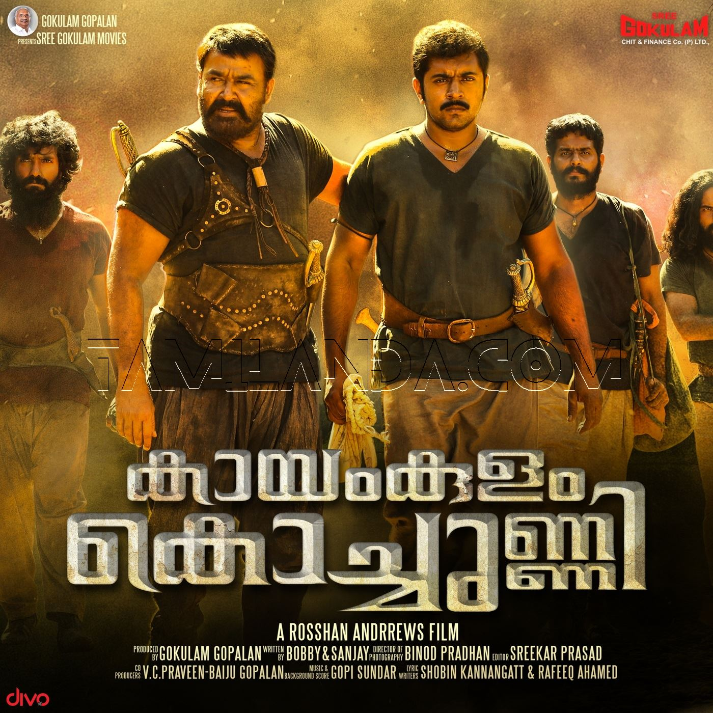 Kayamkulam Kochunni (2018) FLAC Songs