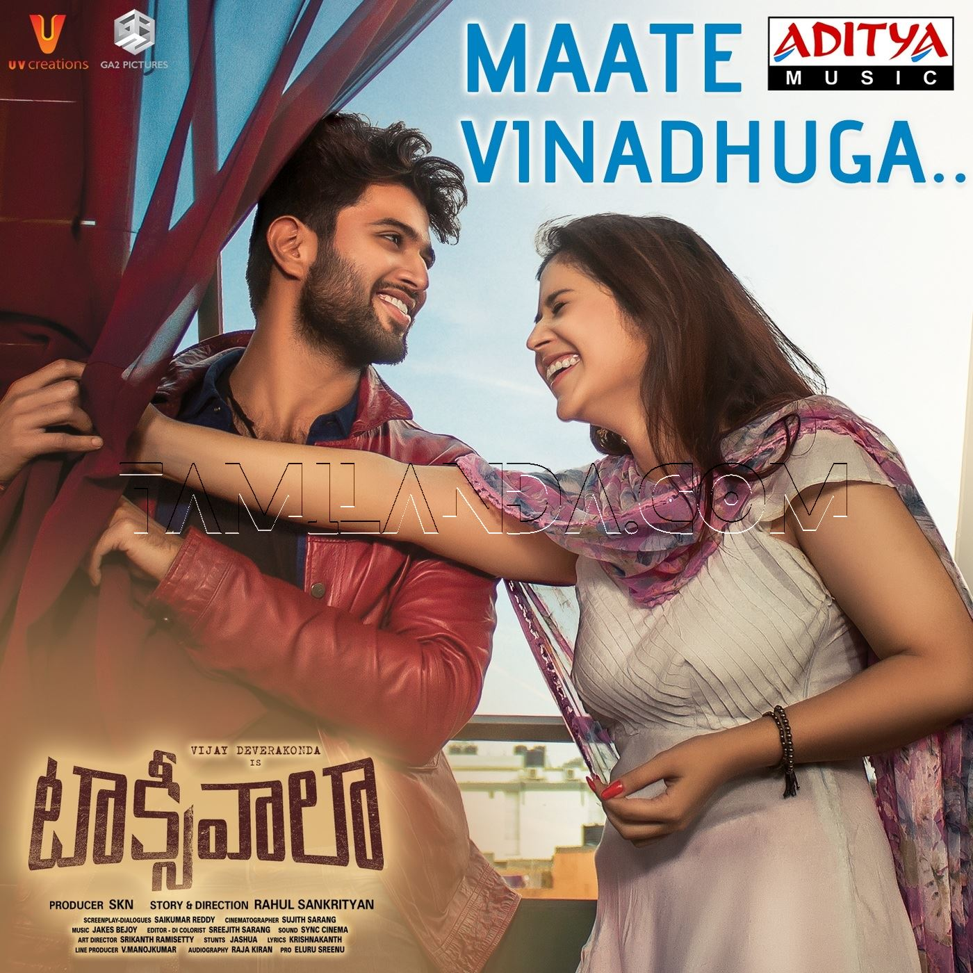 Maate Vinadhuga (From Taxiwaala) – Single FLAC Song