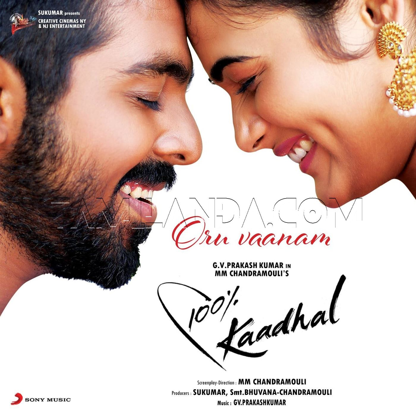 Oru Vaanam (From 100% Kaadhal) (2018) – Single FLAC Song