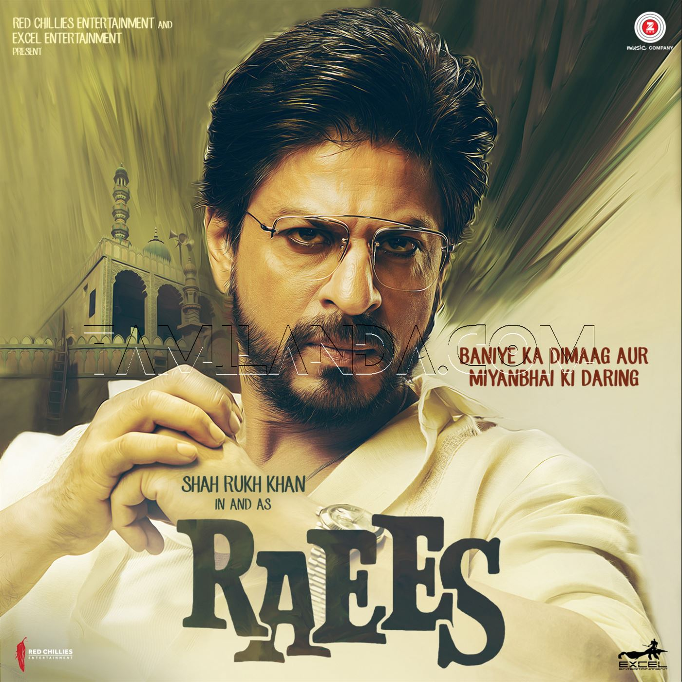 Raees (2016) FLAC Songs