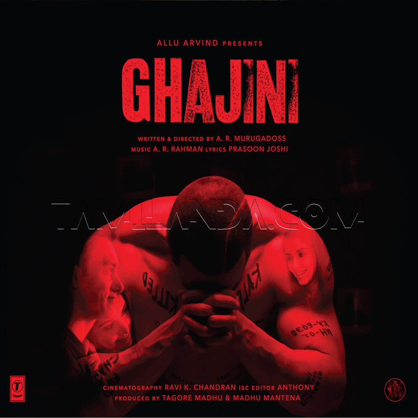 Ghajini [Hindi] FLAC Songs (2008)