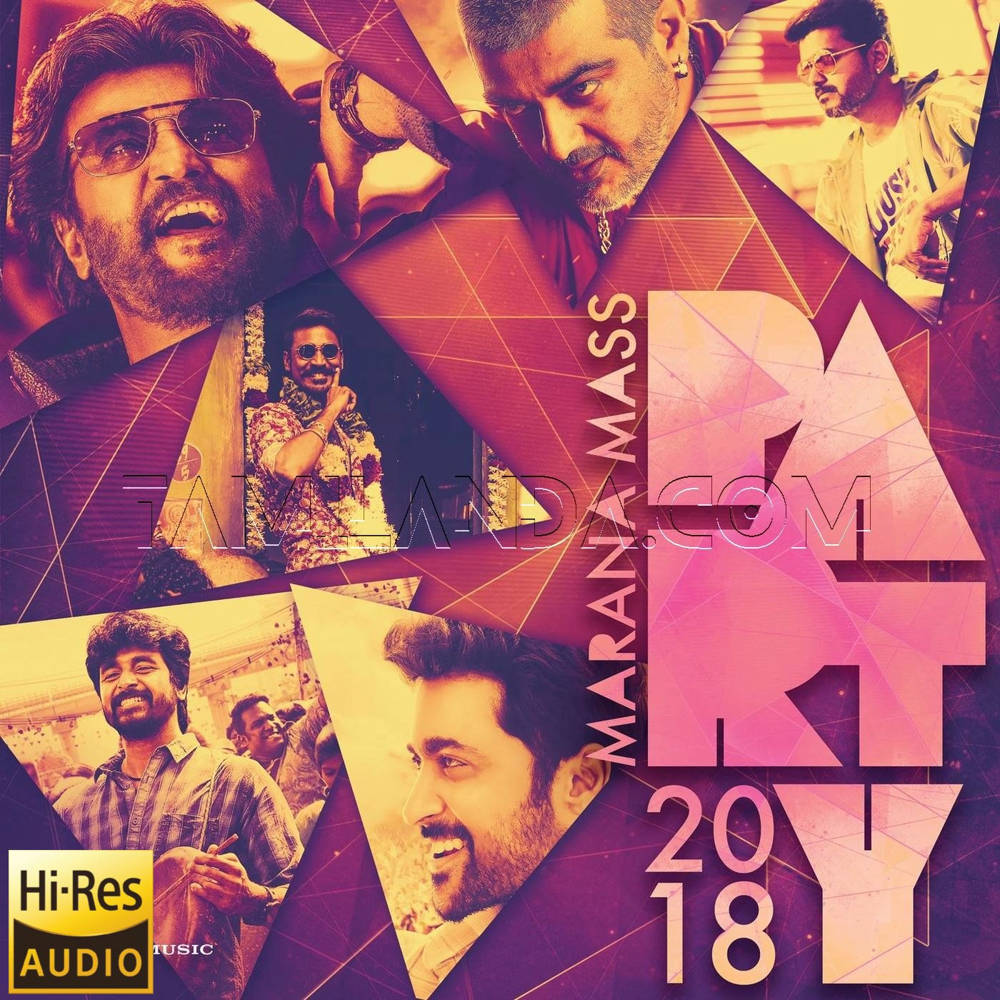 Marana Mass Party 2018 FLAC Songs (24 BIT)