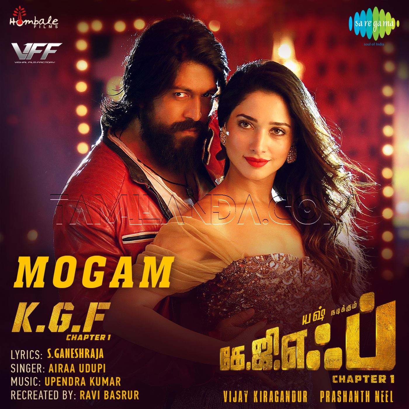 Mogam (From K.G.F. Chapter 1) – Single FLAC Song (2018)