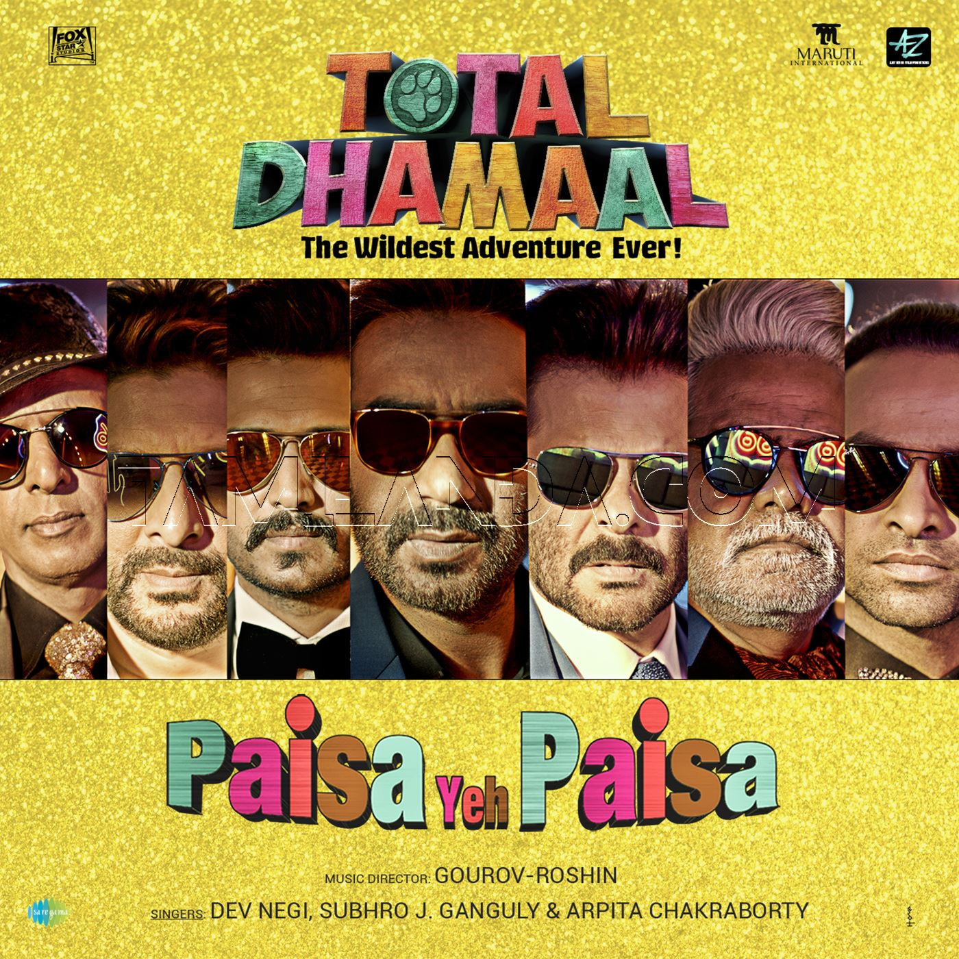 Paisa Yeh Paisa (From Total Dhamaal) – Single FLAC Song (2019)