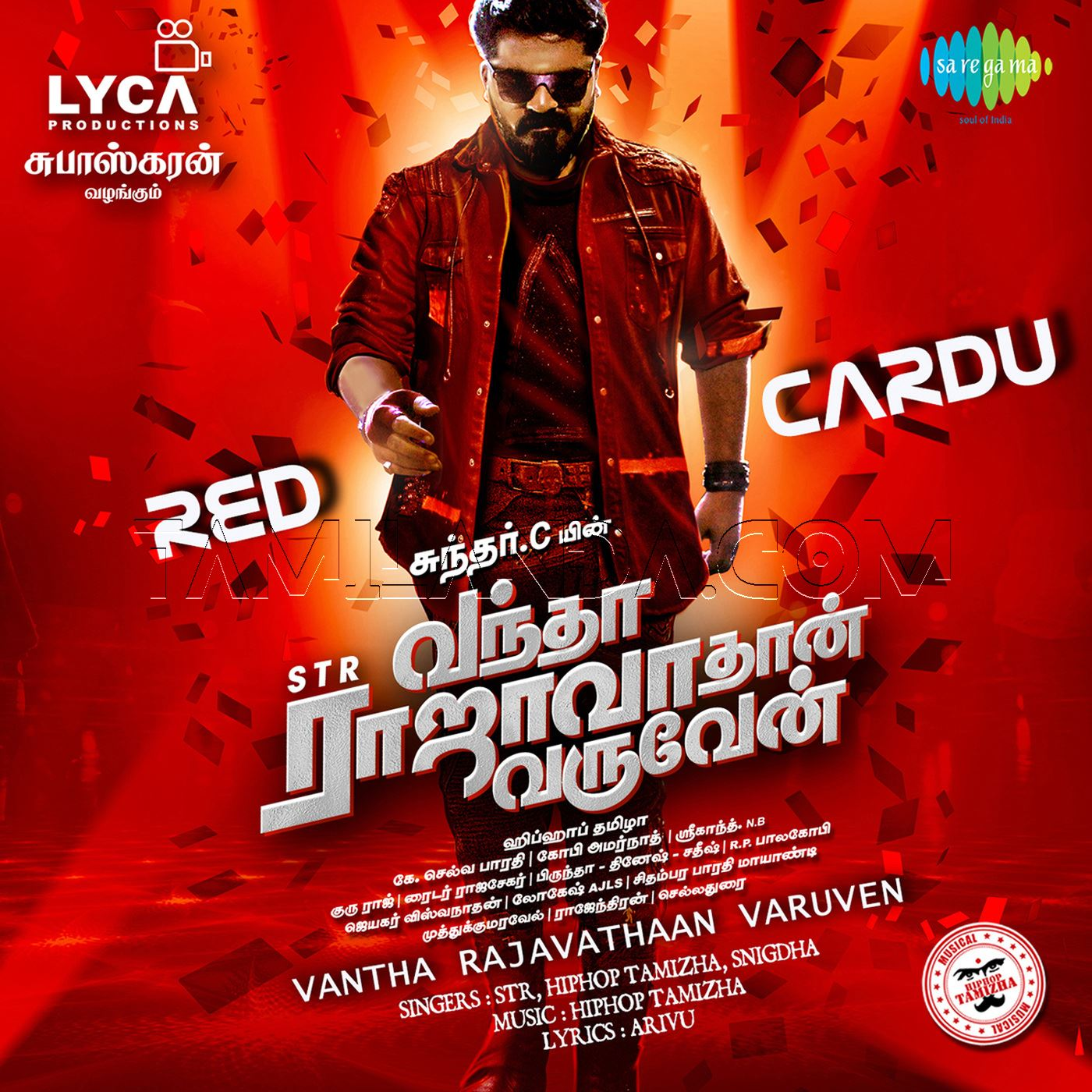 Red Cardu (From Vantha Rajavathaan Varuven) – Single FLAC Song (2019)