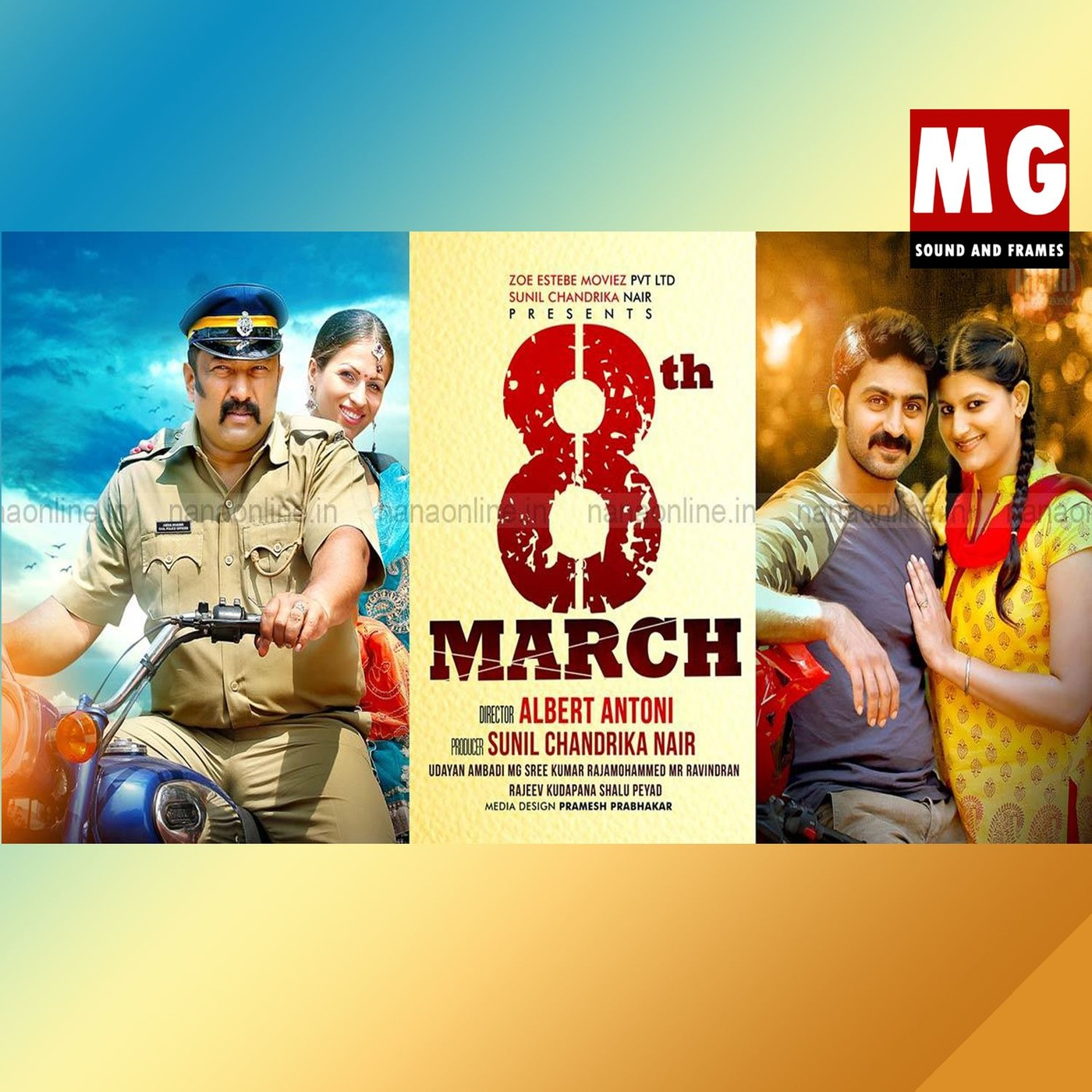 8th March (2015)