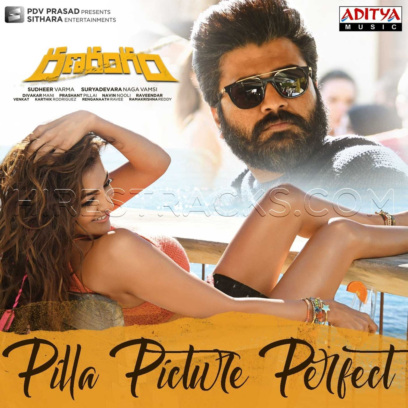 Pilla Picture Perfect (From Ranarangam) (2019) (Sunny M.R.) (Aditya Music)