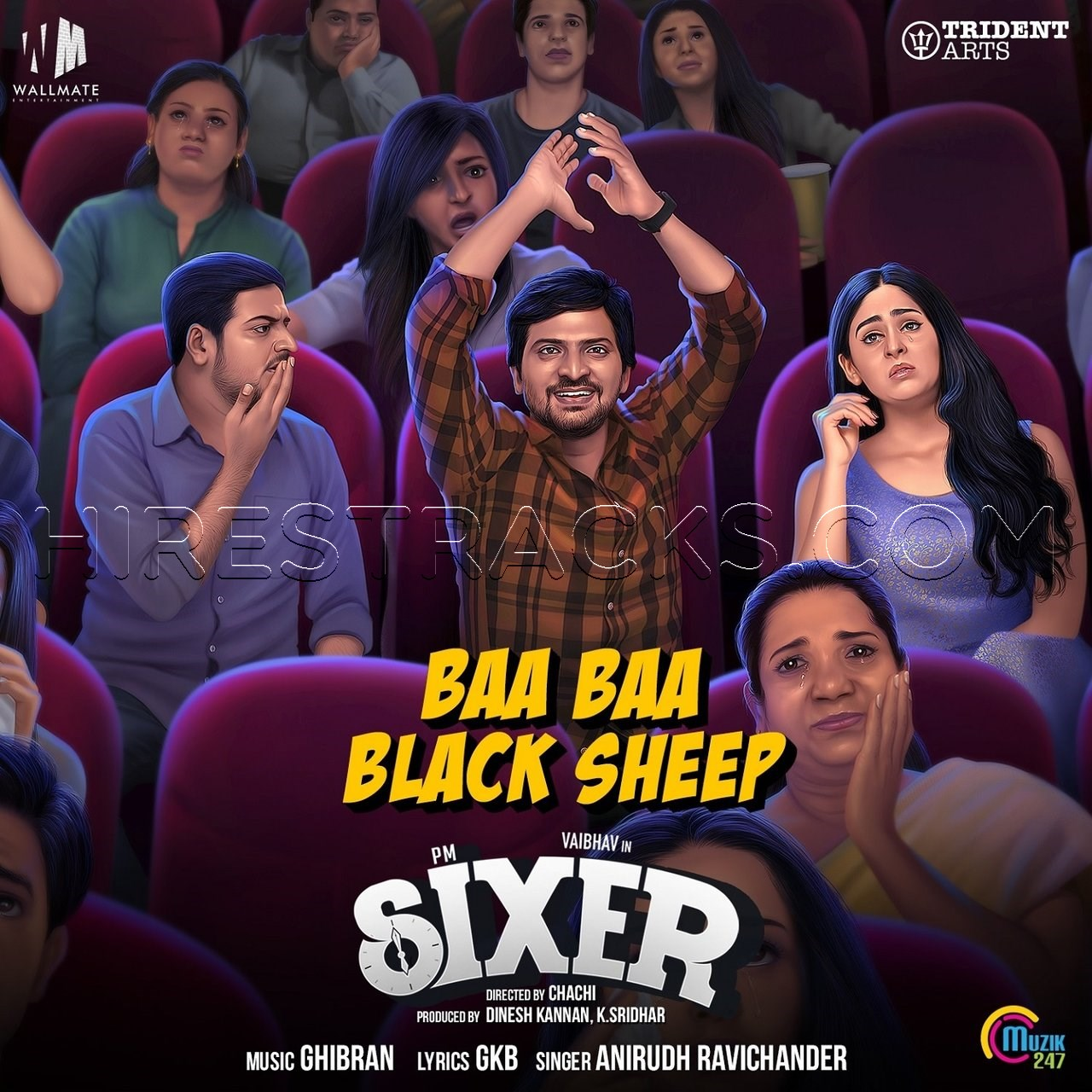Baa Baa Black Sheep (From Sixer) (2019) (Ghibran) (Muzik 247) [Digital-DL-FLAC].zip