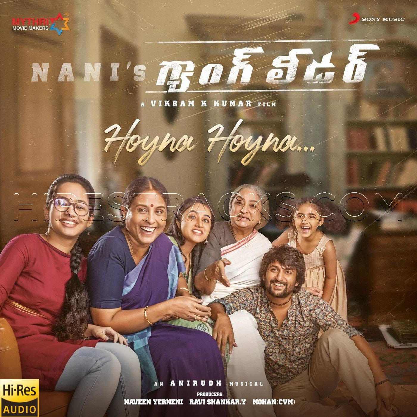 Hoyna Hoyna (From Gang Leader) (2019) (Anirudh Ravichander) (Sony Music) [24 BIT – 48 KHZ] [Digital-DL-FLAC]