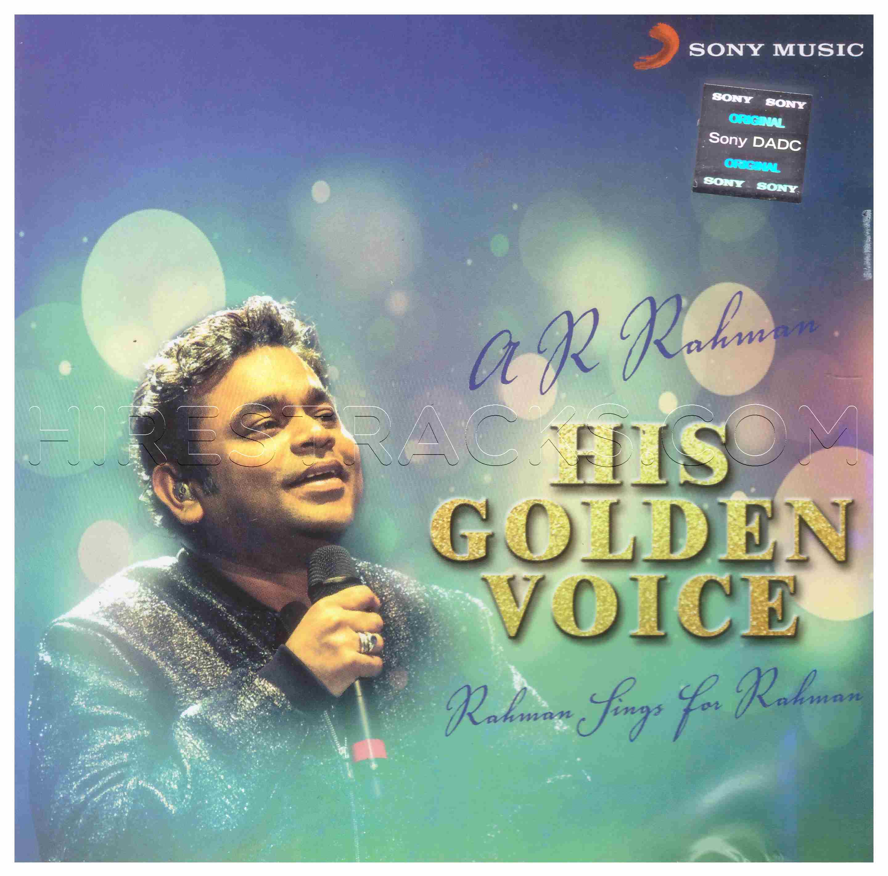 A.R. Rahman His Golden Voice (2016) (Sony Music) [2 CDs] [ACD-RIP-WAV]