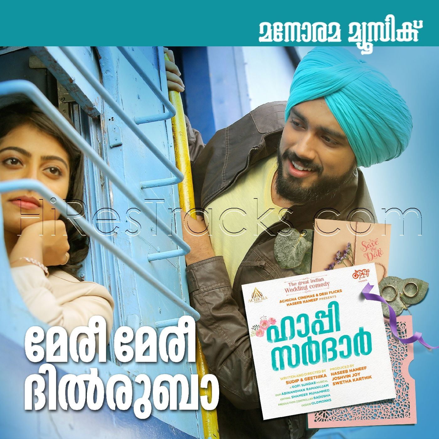 Meri Meri Dilruba (From Happy Sardar) (2019) (Gopi Sunder) (Manorama Music) [Digital-RIP-FLAC]
