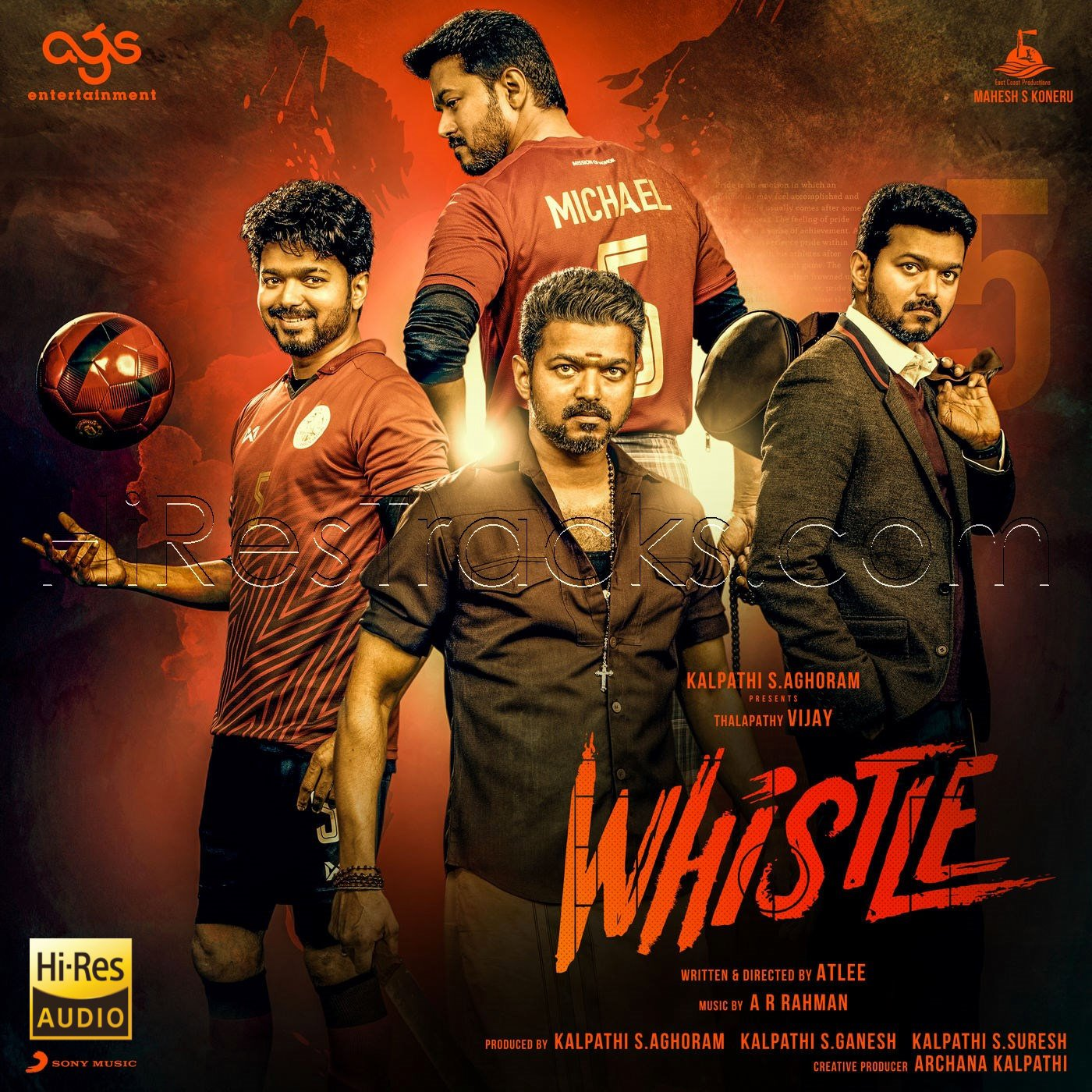 Whistle (2019) (A.R. Rahman) (Sony Music) [24 BIT – 48 KHZ] [Digital-RIP-FLAC]