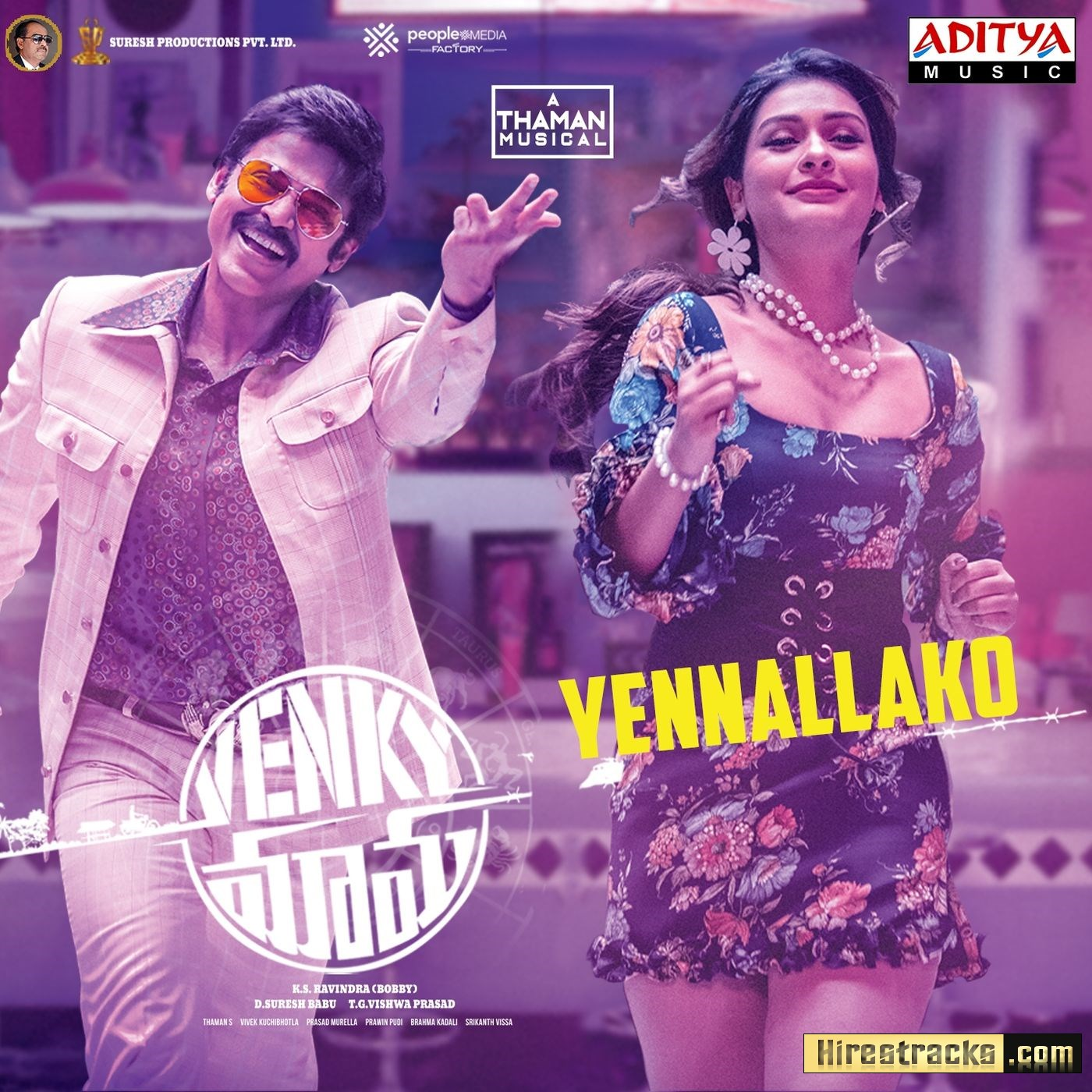 Yennallako (From Venky Mama) (2019) (Thaman S) (Aditya Music) [Digital-DL-FLAC]