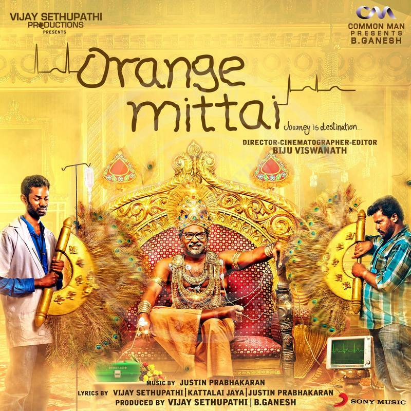 Orange Mittai in 24 BIT