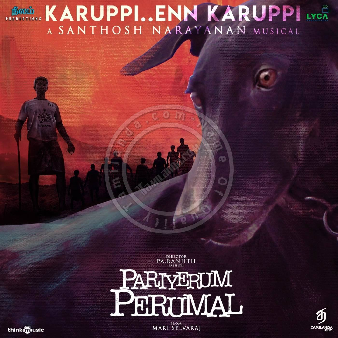 Pariyerum Perumal 16 BIT FLAC Songs