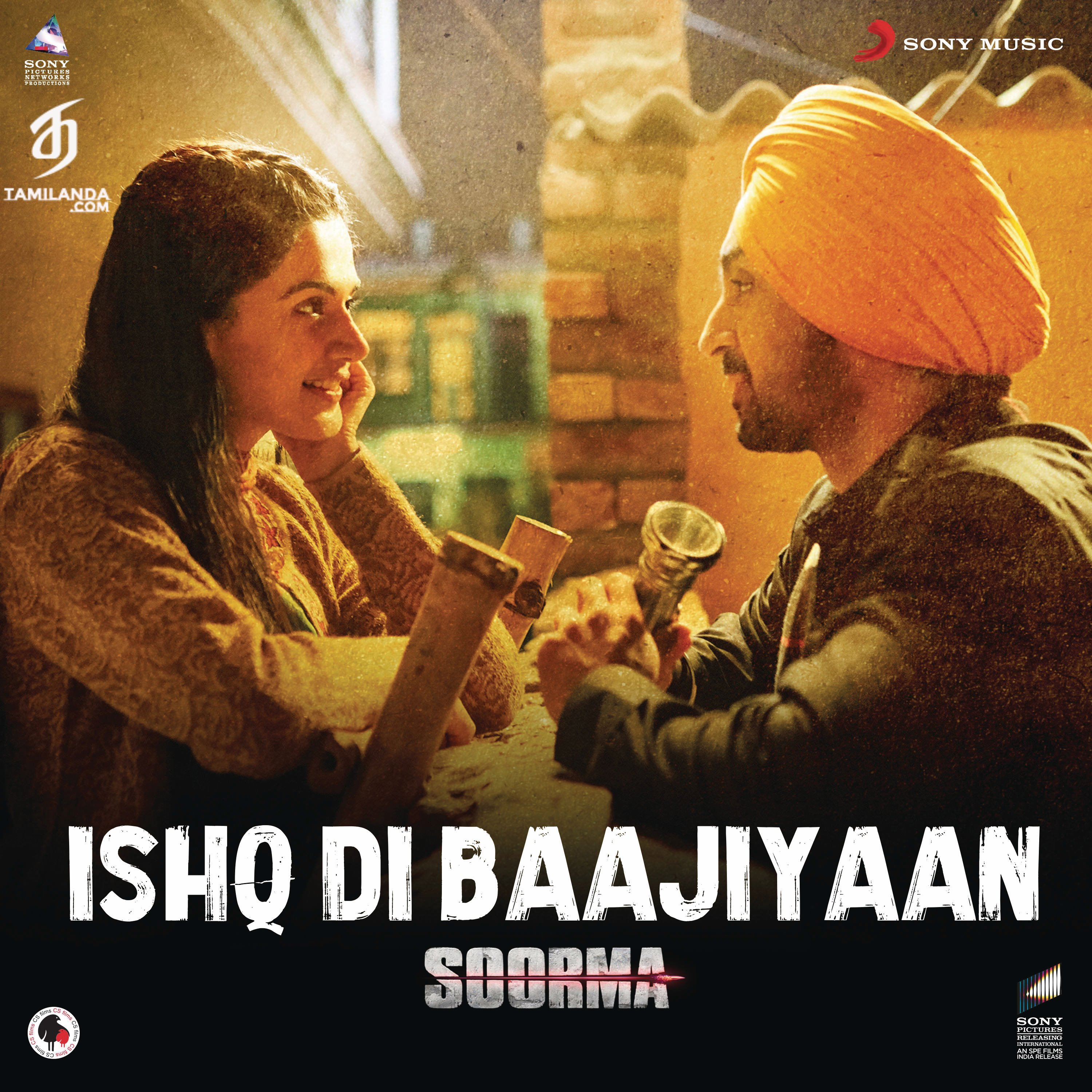 Ishq Di Baajiyaan (From Soorma) – Single 24 BIT FLAC Song
