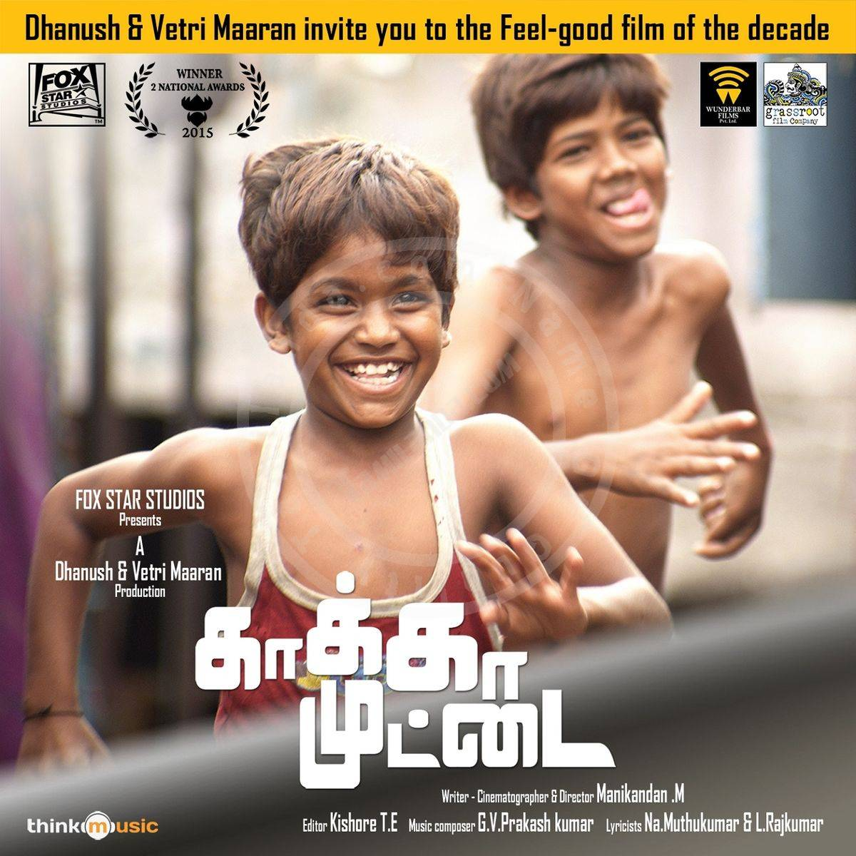Kaakka Muttai FLAC Songs