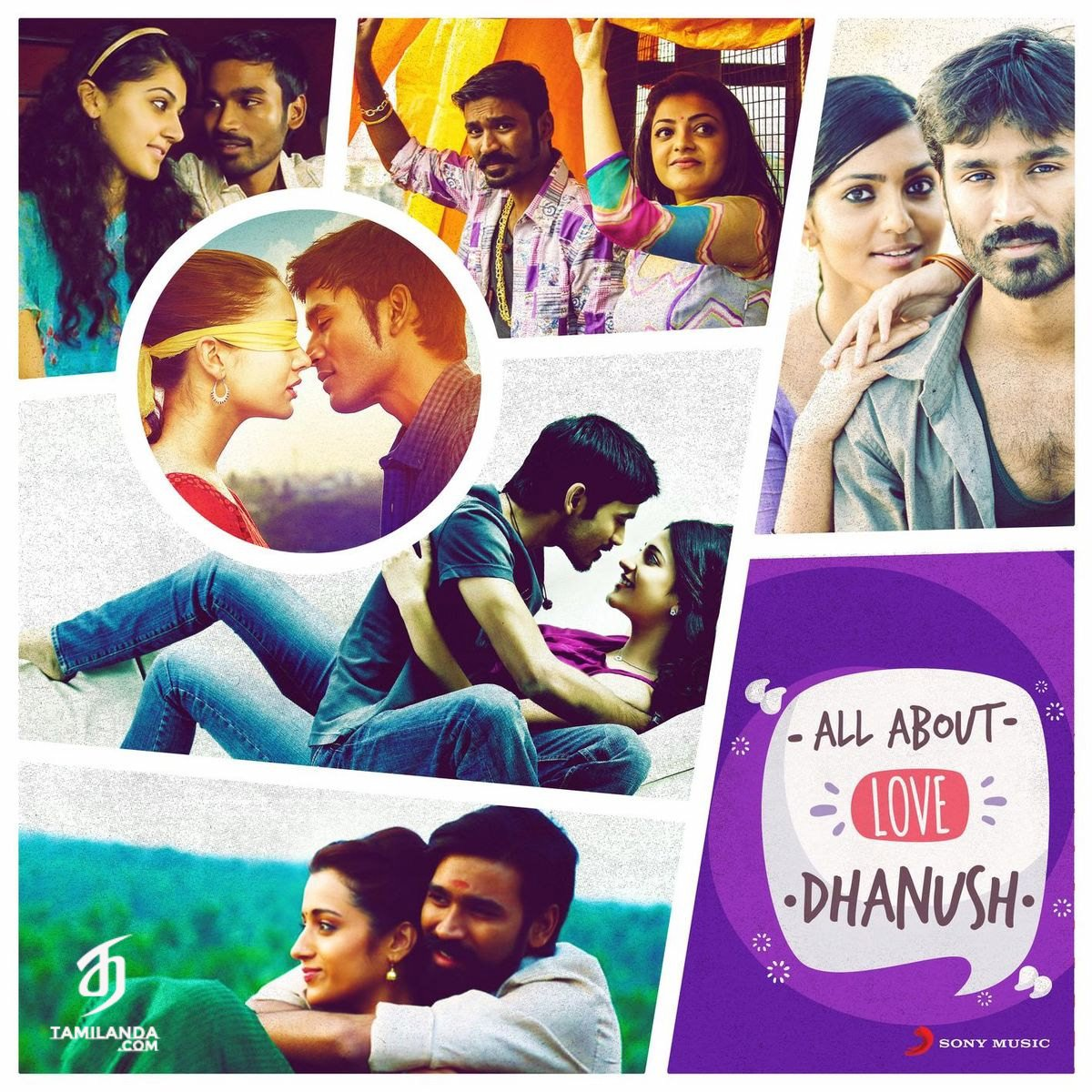 All About Love: Dhanush FLAC Songs