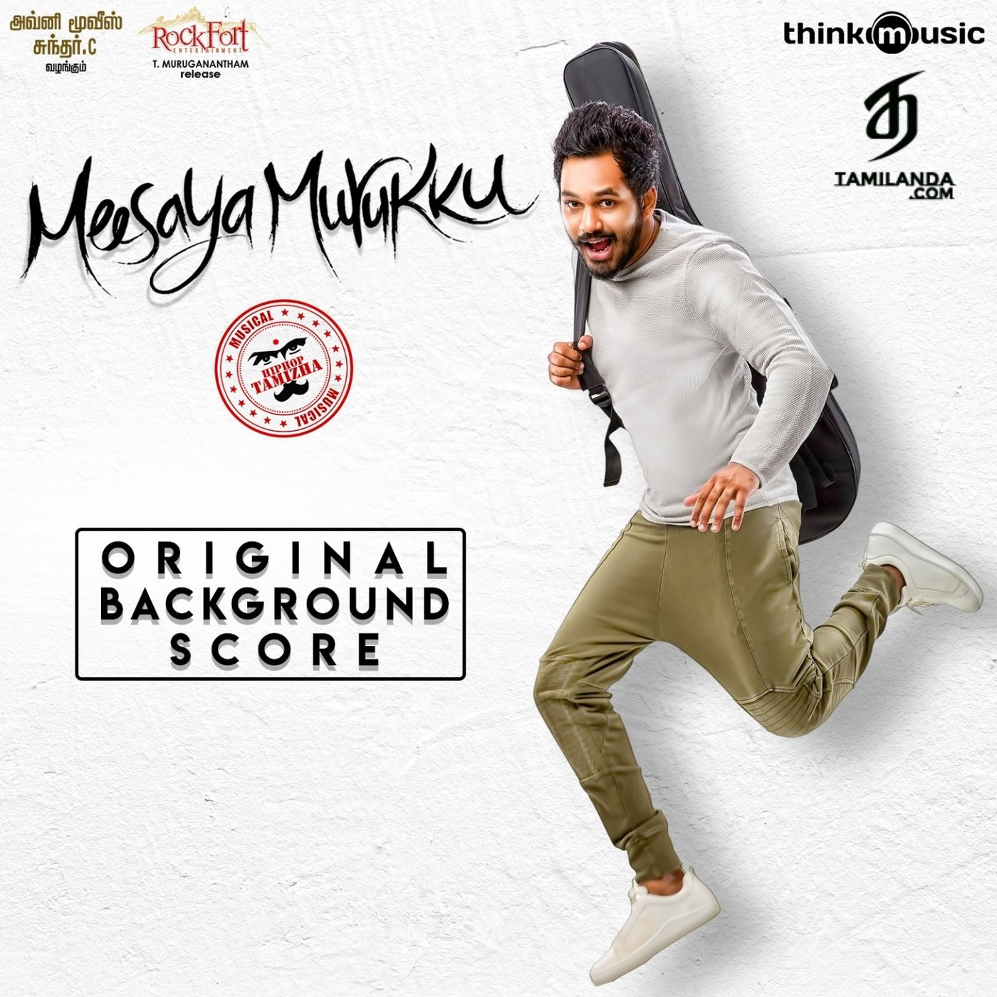 Meesaya Murukku (Original Background Score) FLAC Album