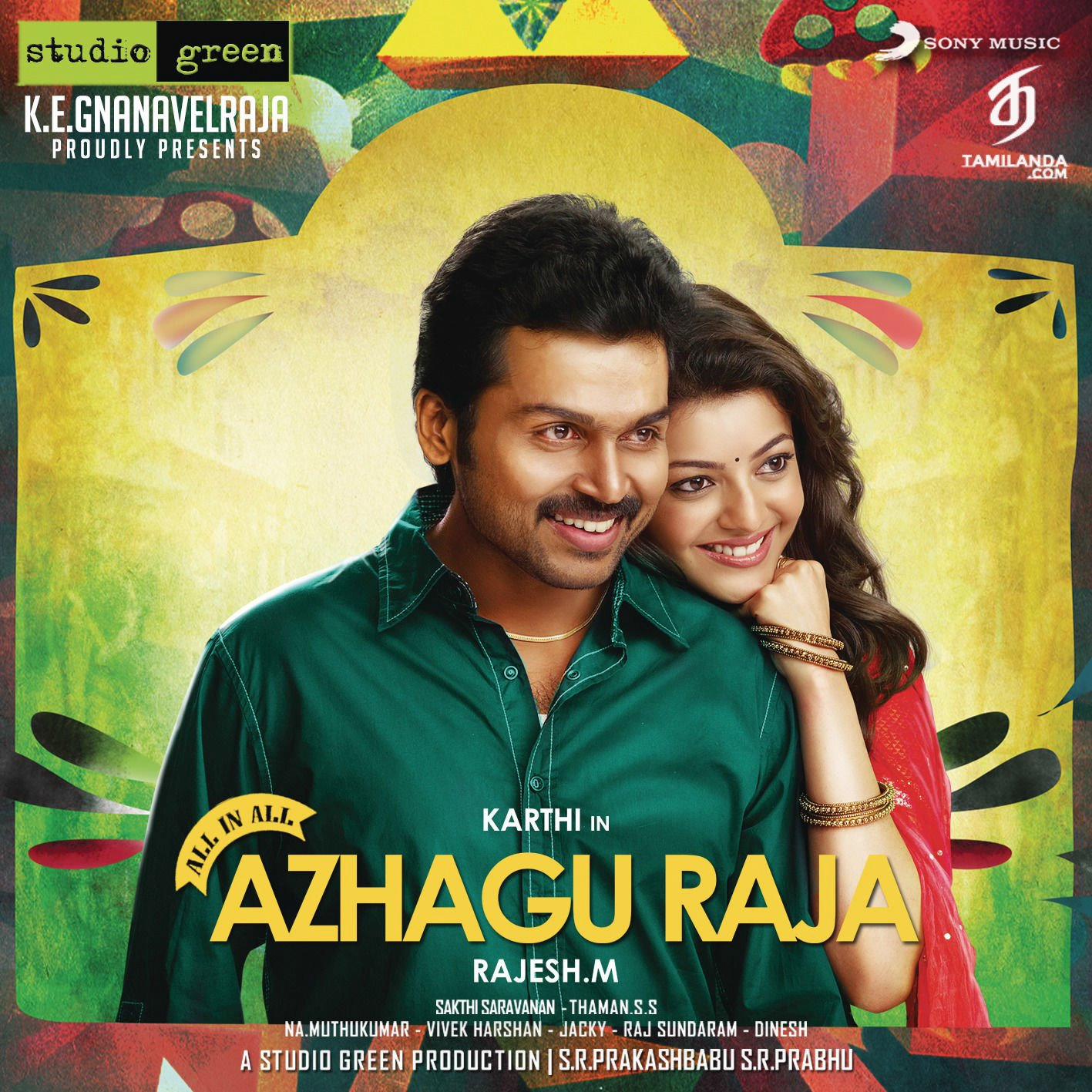 All in All Azhagu Raja FLAC Songs