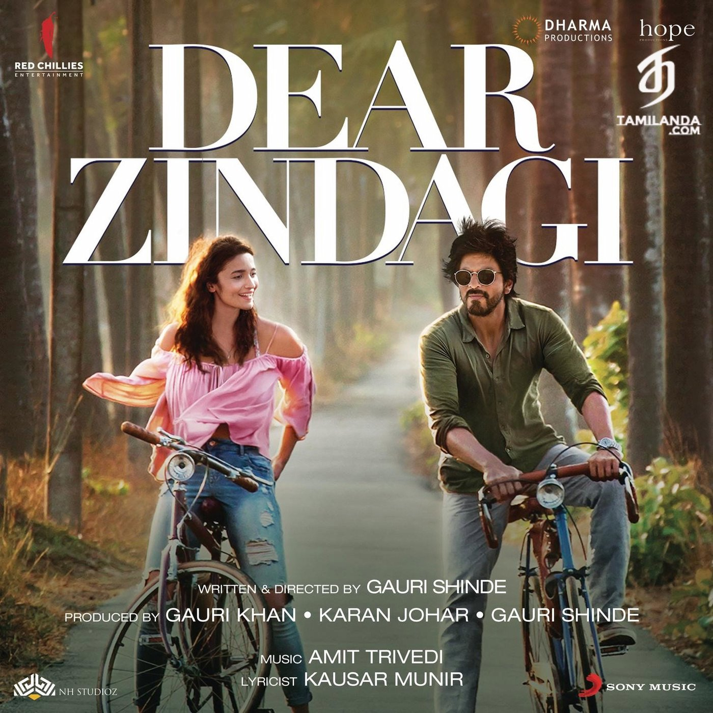Dear Zindagi FLAC Songs