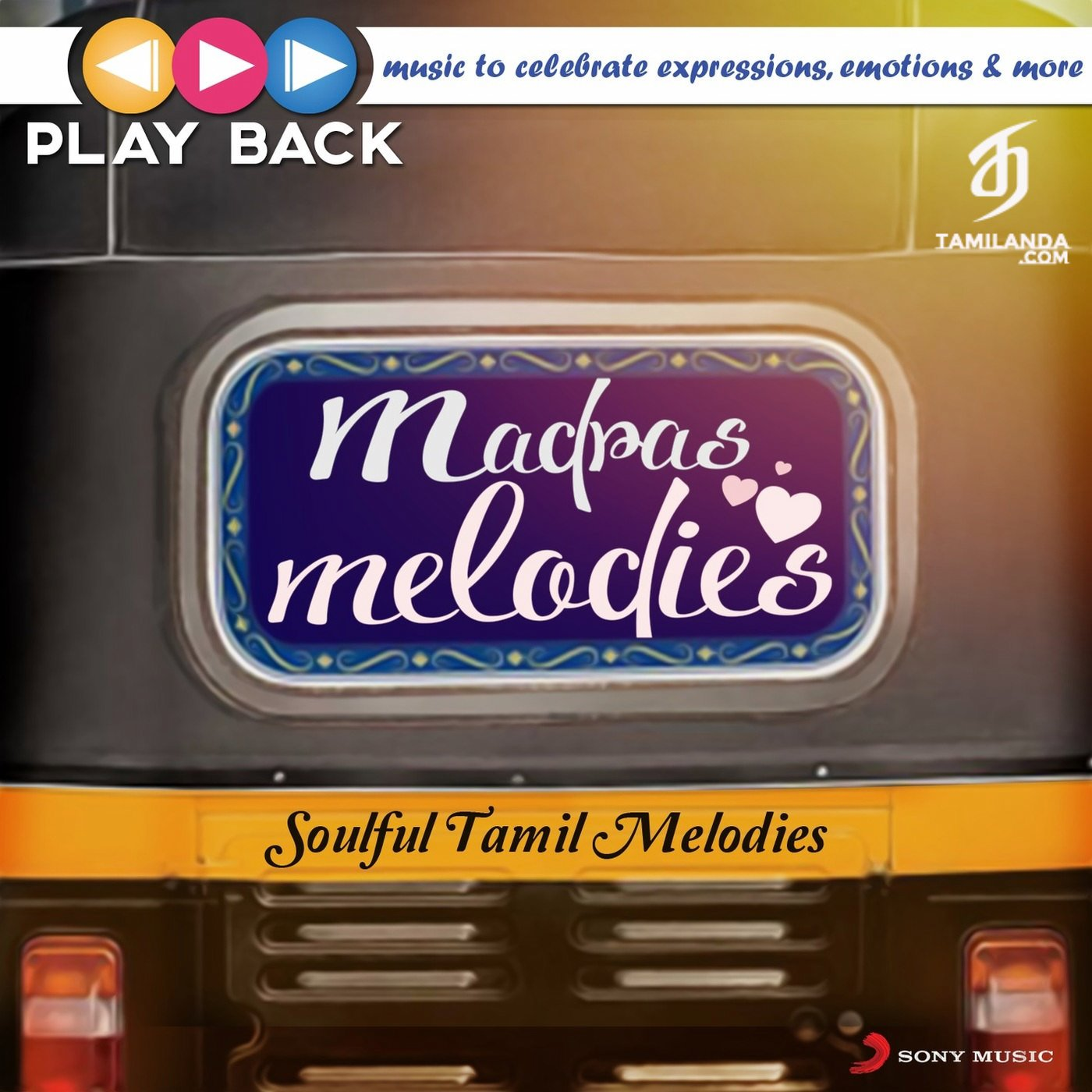 Playback: Madras Melodies – Soulful Tamil Melodies FLAC Songs [63 Tracks]