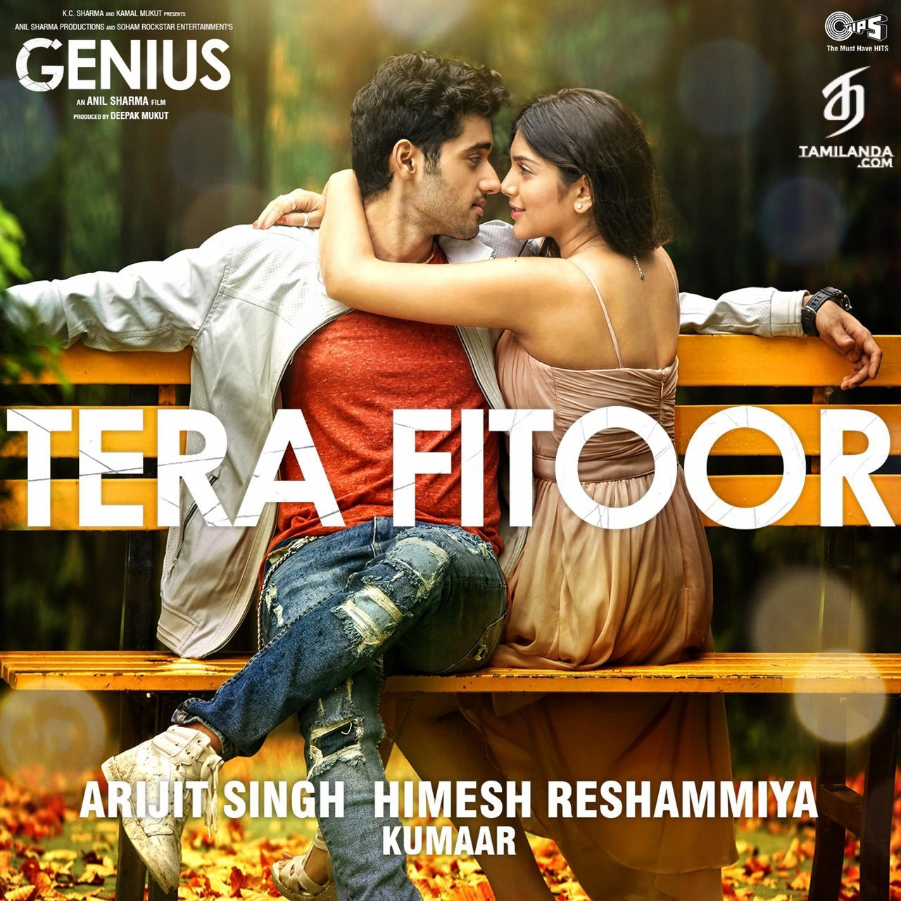 """Tera Fitoor (From """"Genius"""") Single FLAC Song"""