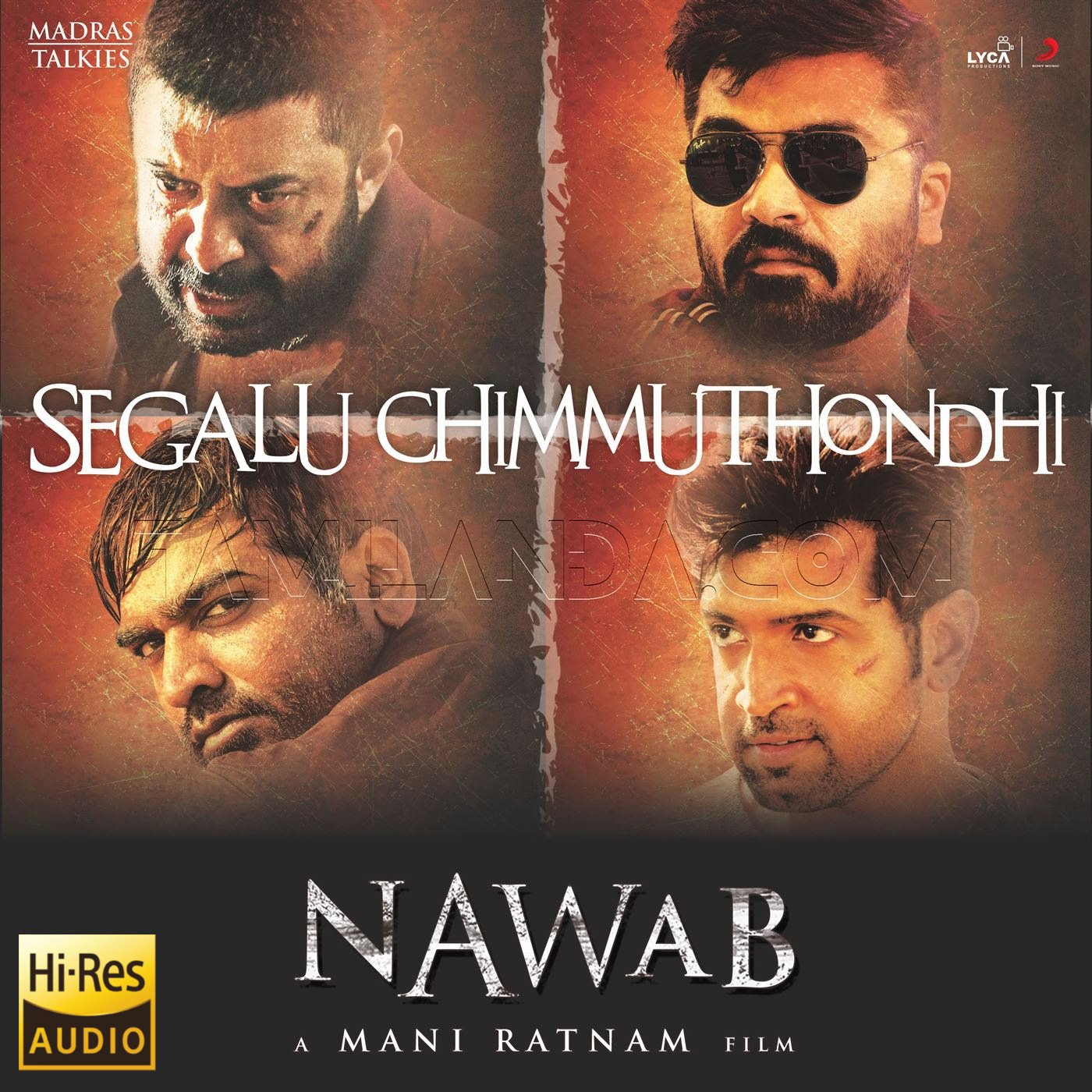 "Segalu Chimmuthondhi (From ""Nawab"") – Single 24 BIT 96 KHZ Song"
