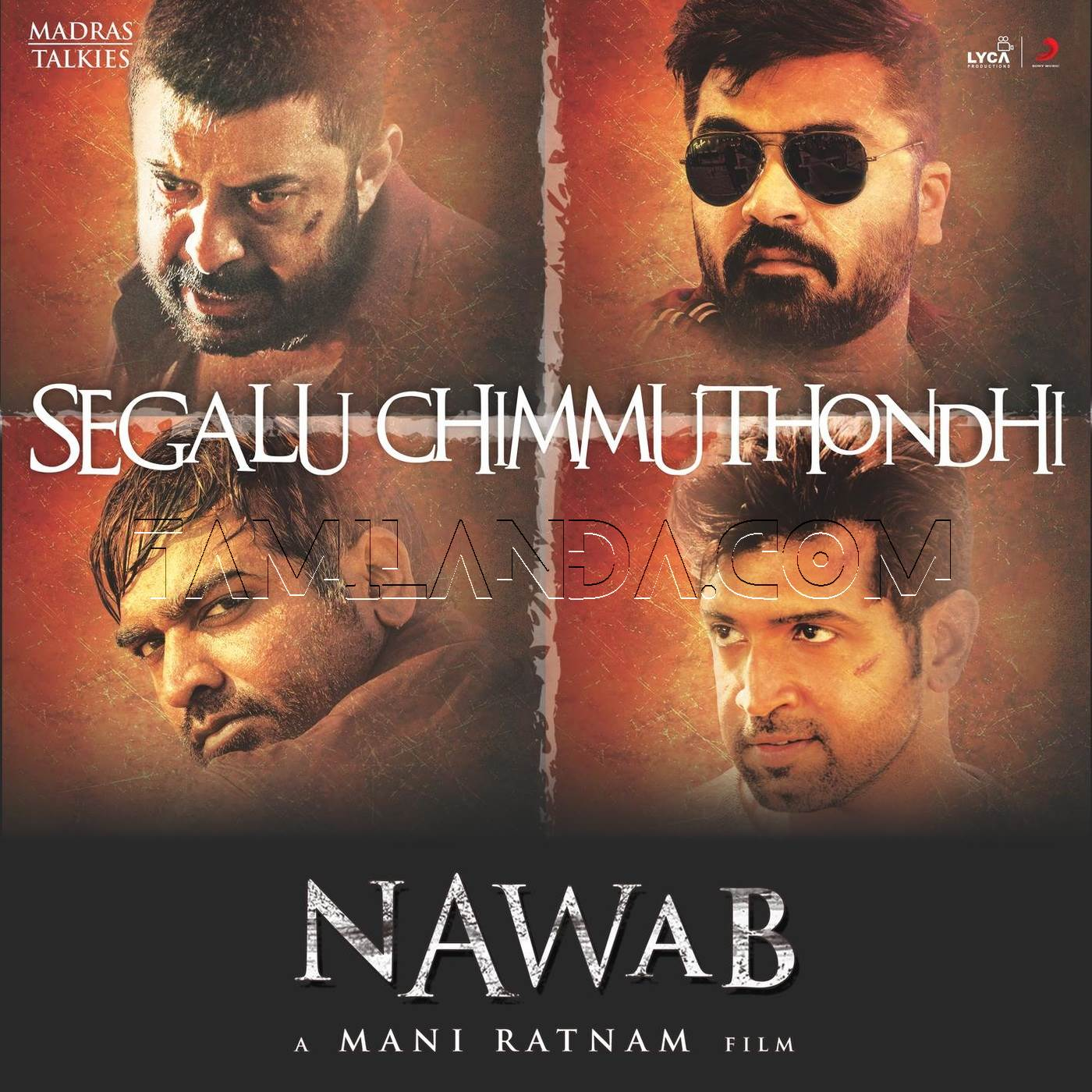"Segalu Chimmuthondhi (From ""Nawab"") – Single FLAC Song"