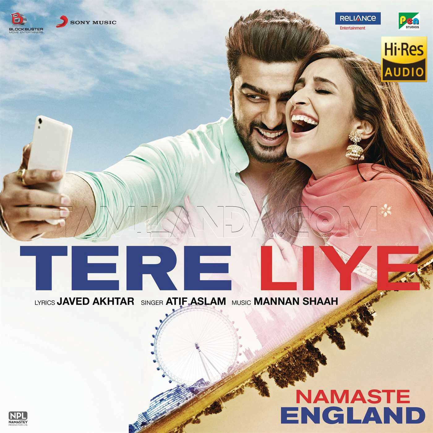 Tere Liye (From Namaste England) – Single 24 BIT Song