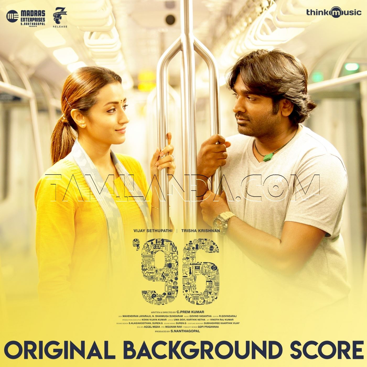 96 – Original Background Score FLAC Album