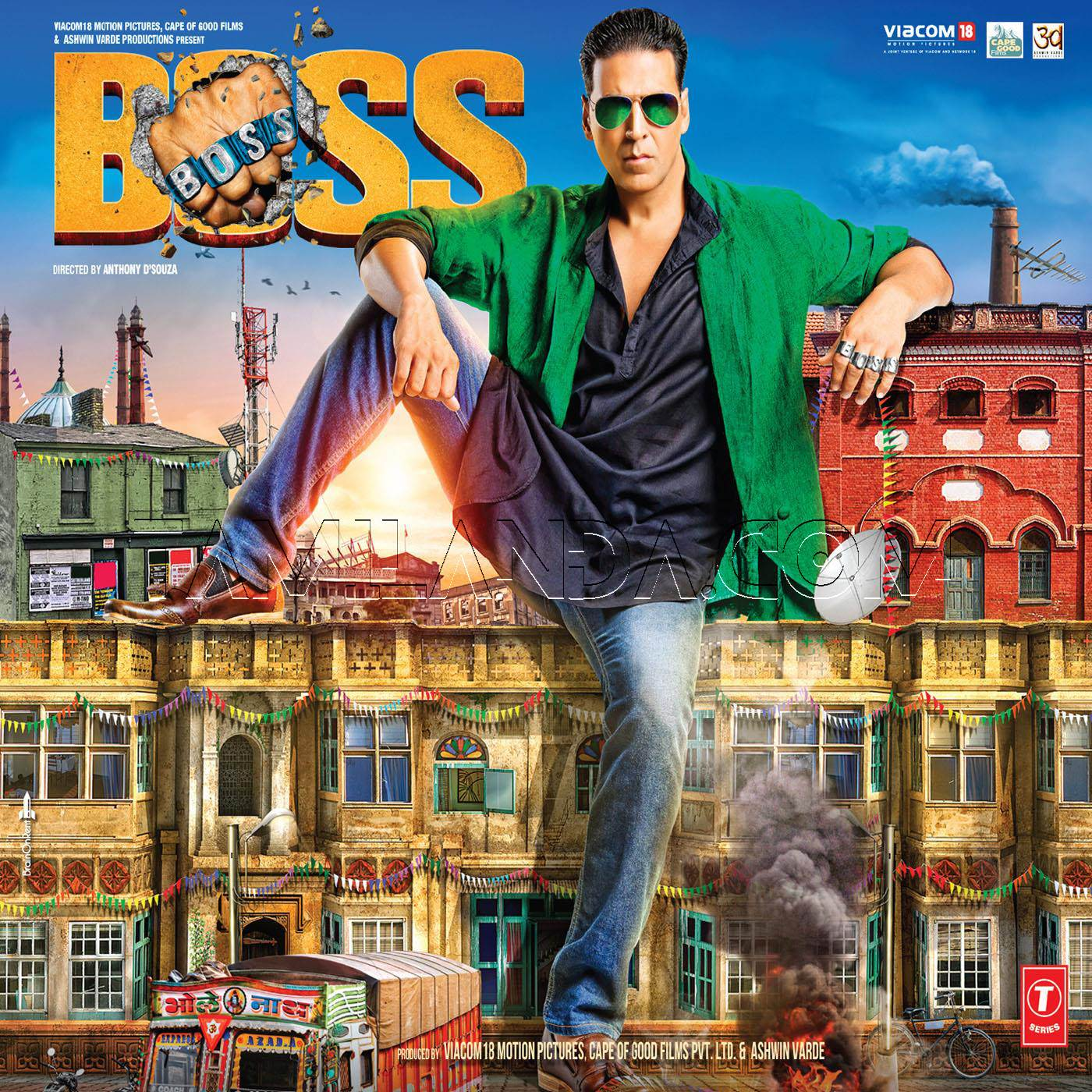 Boss (2013) WAV Songs