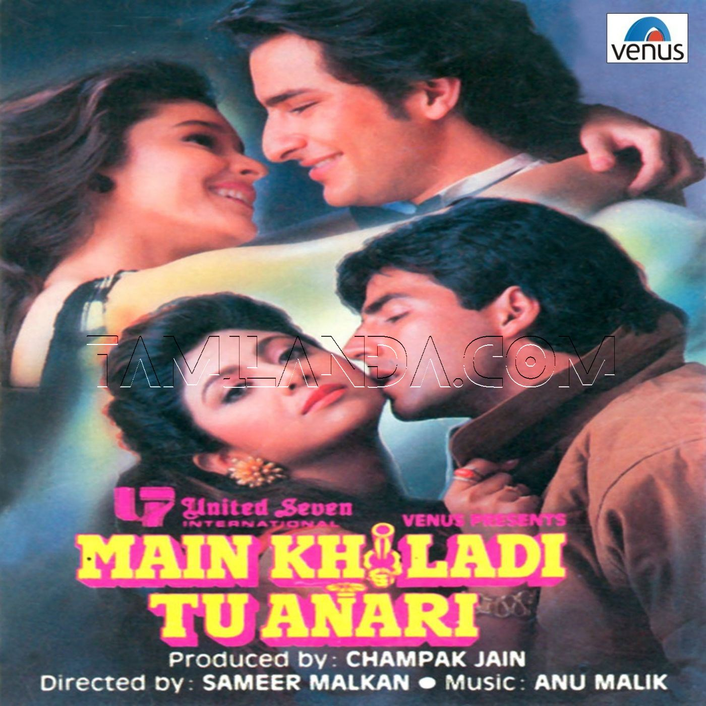 Main Khiladi Tu Anari (1994) FLAC Songs