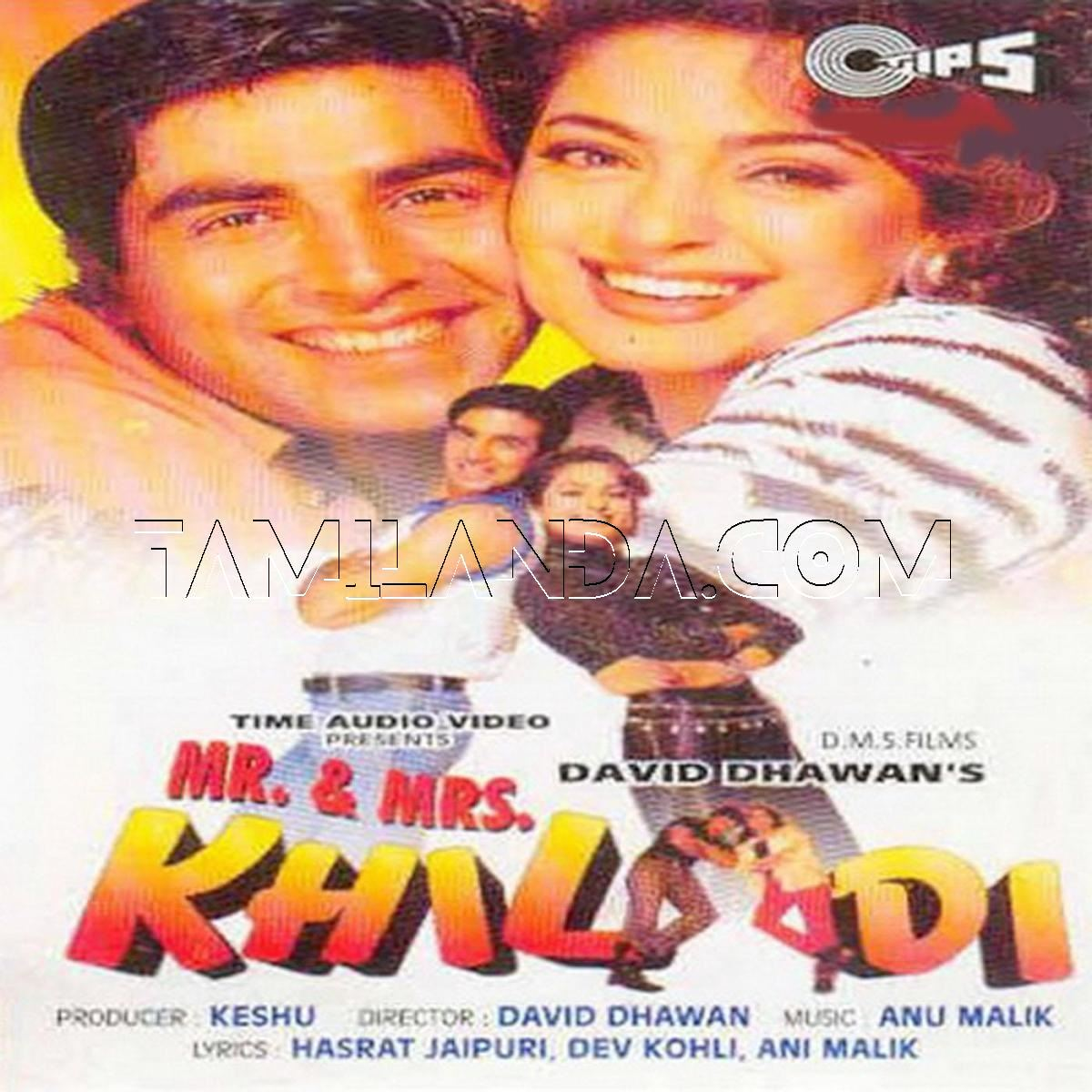 Mr. & Mrs. Khiladi (1997) FLAC Songs
