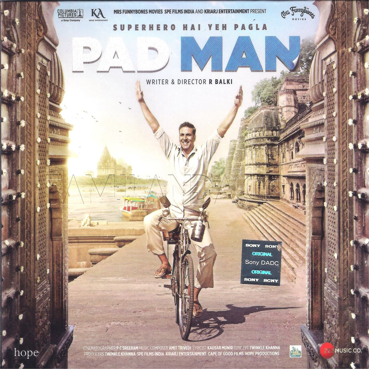 PadMan (2018) FLAC Songs