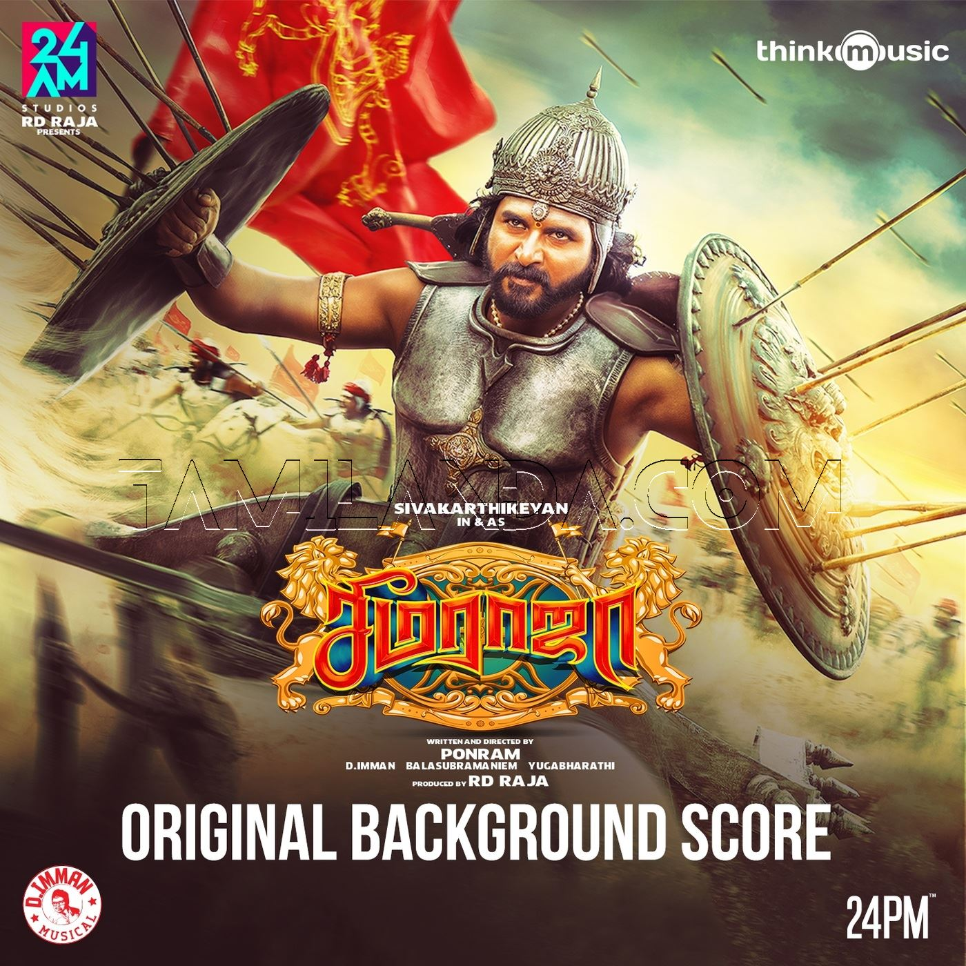 Seemaraja (Original Background Score) FLAC Album