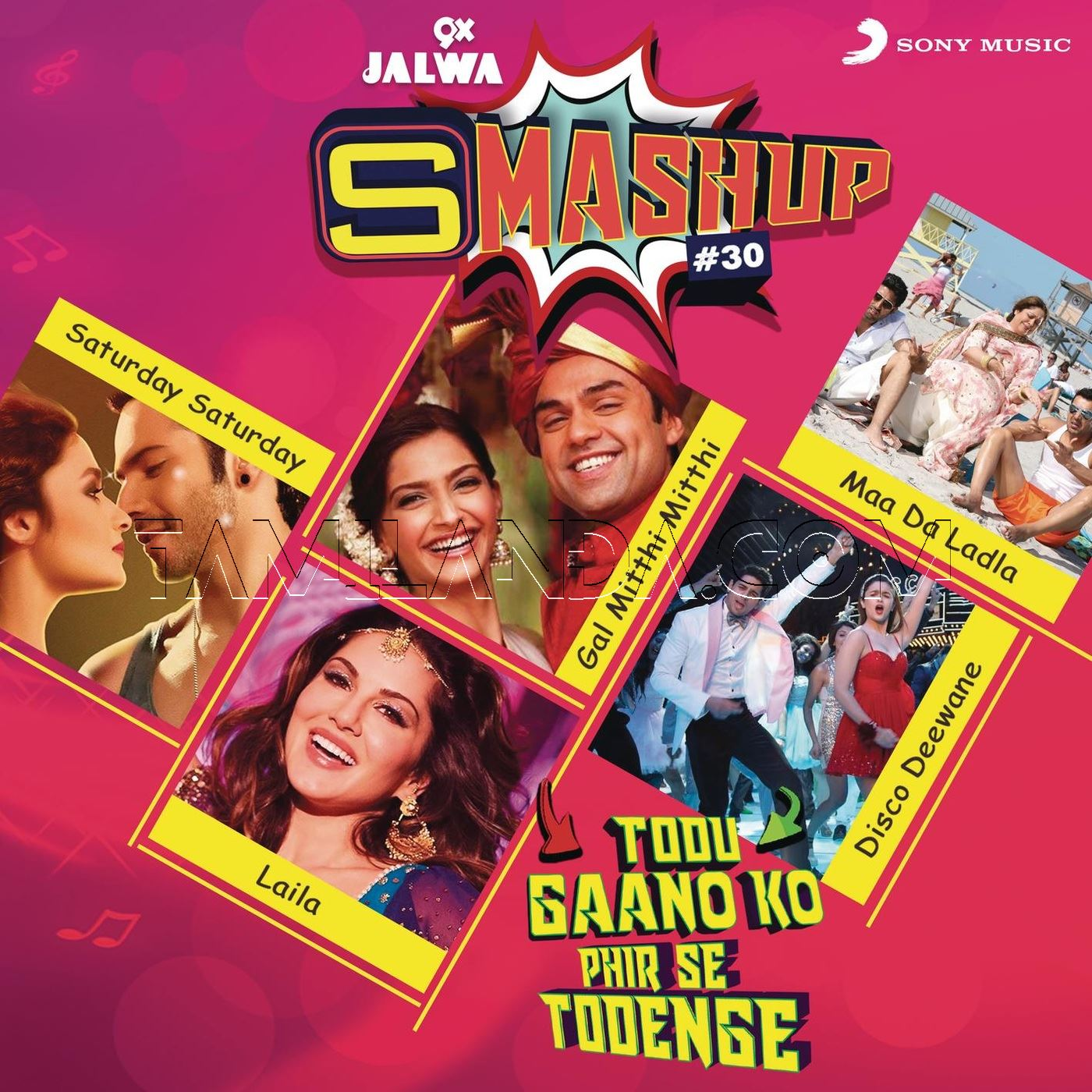 9X Jalwa Smashup # 30 FLAC Songs