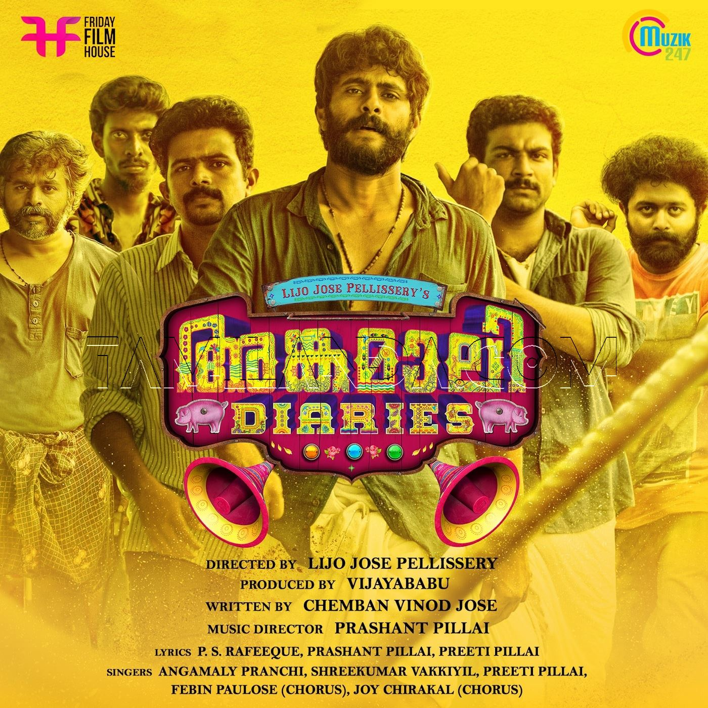 Angamaly Diaries FLAC Songs (2017)