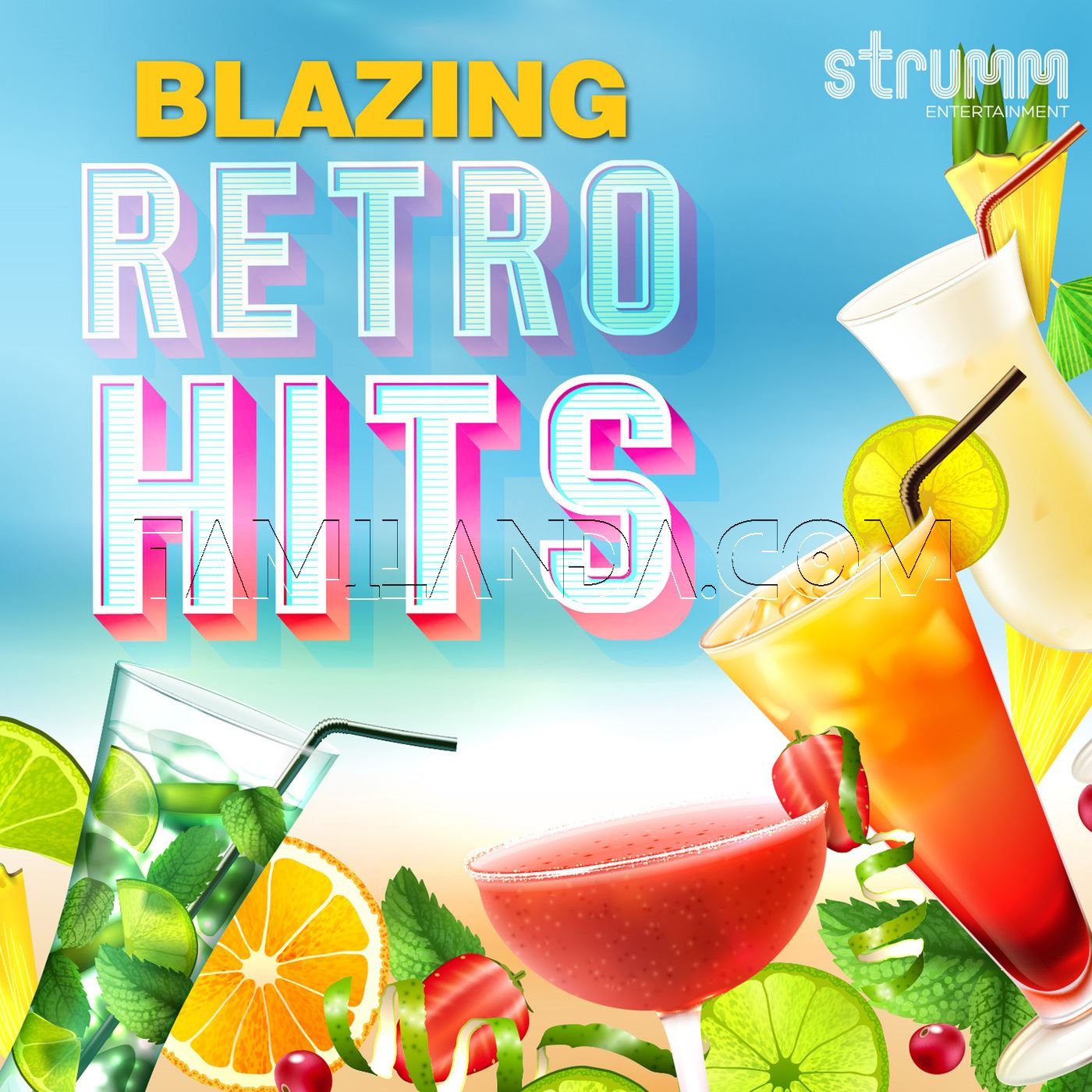 Blazing Retro Hits (2016) FLAC Songs