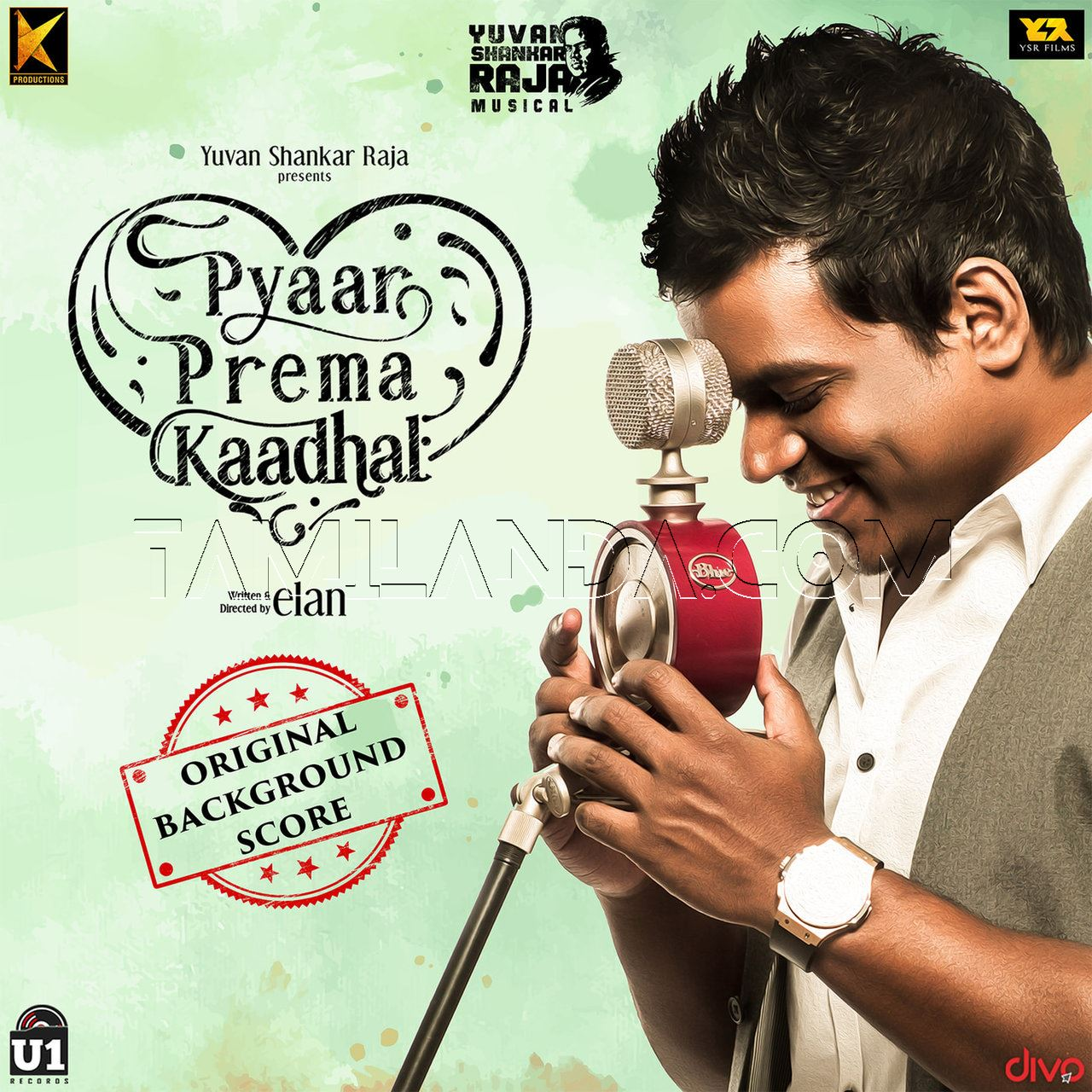 Pyaar Prema Kaadhal (Original Background Score) FLAC Album