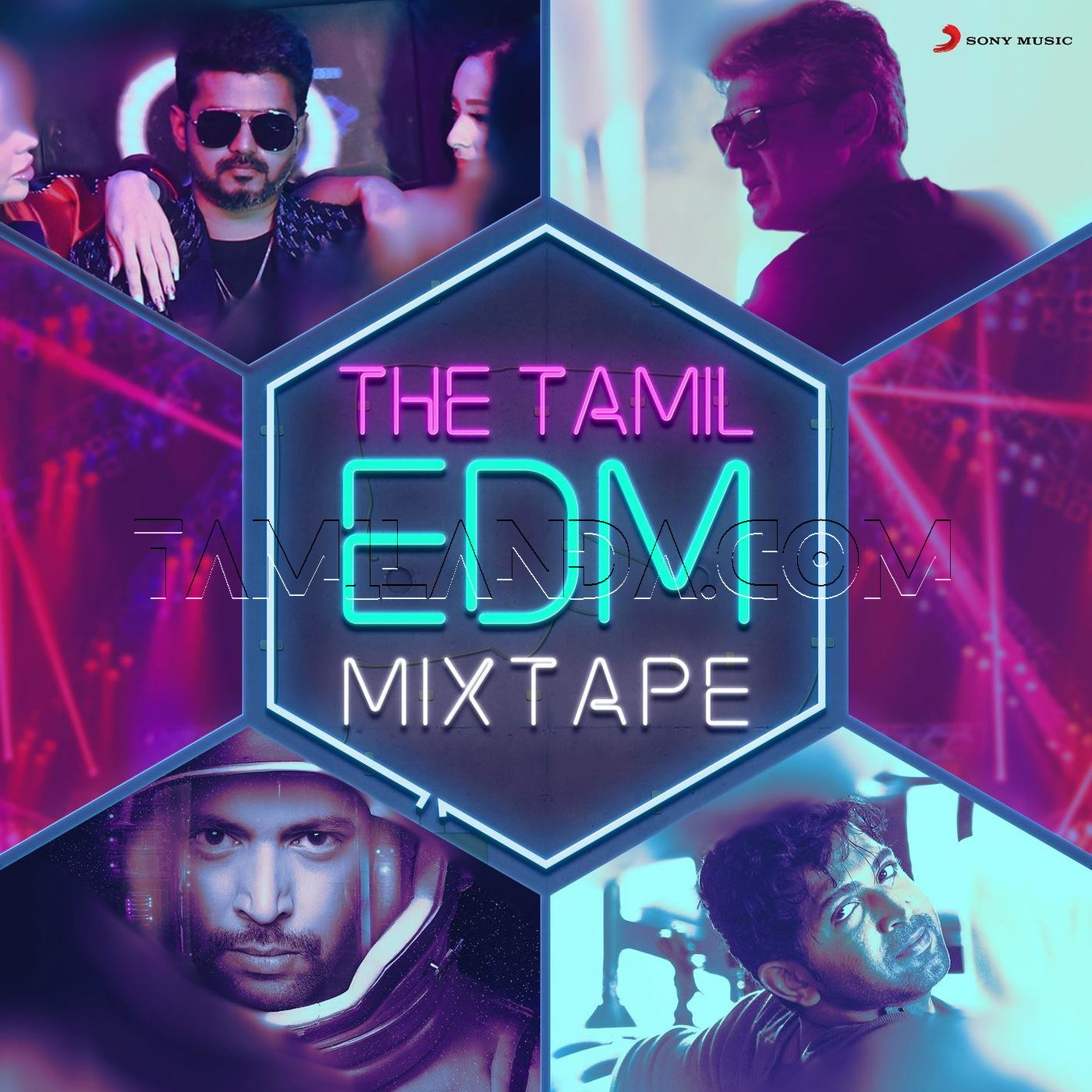 The Tamil EDM Mixtape FLAC Album (2018) [Compilation]