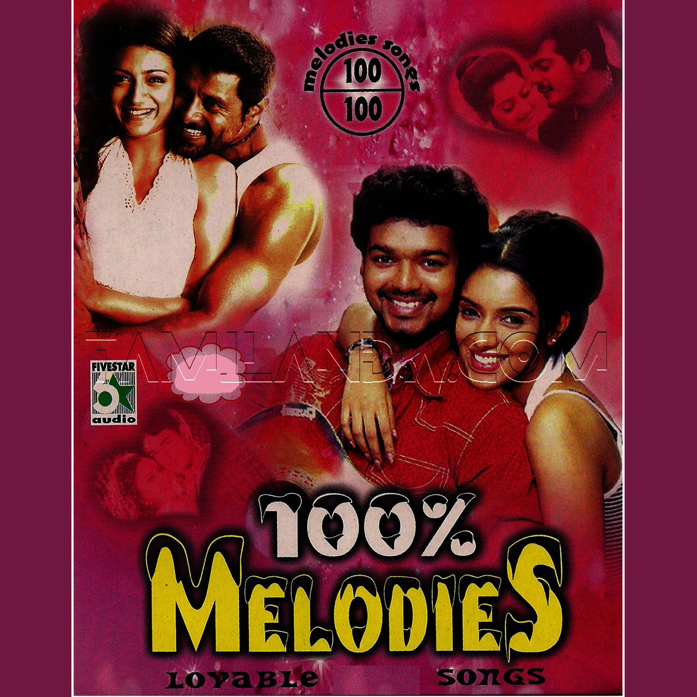 100% Melodies Lovable FLAC Songs (2013)