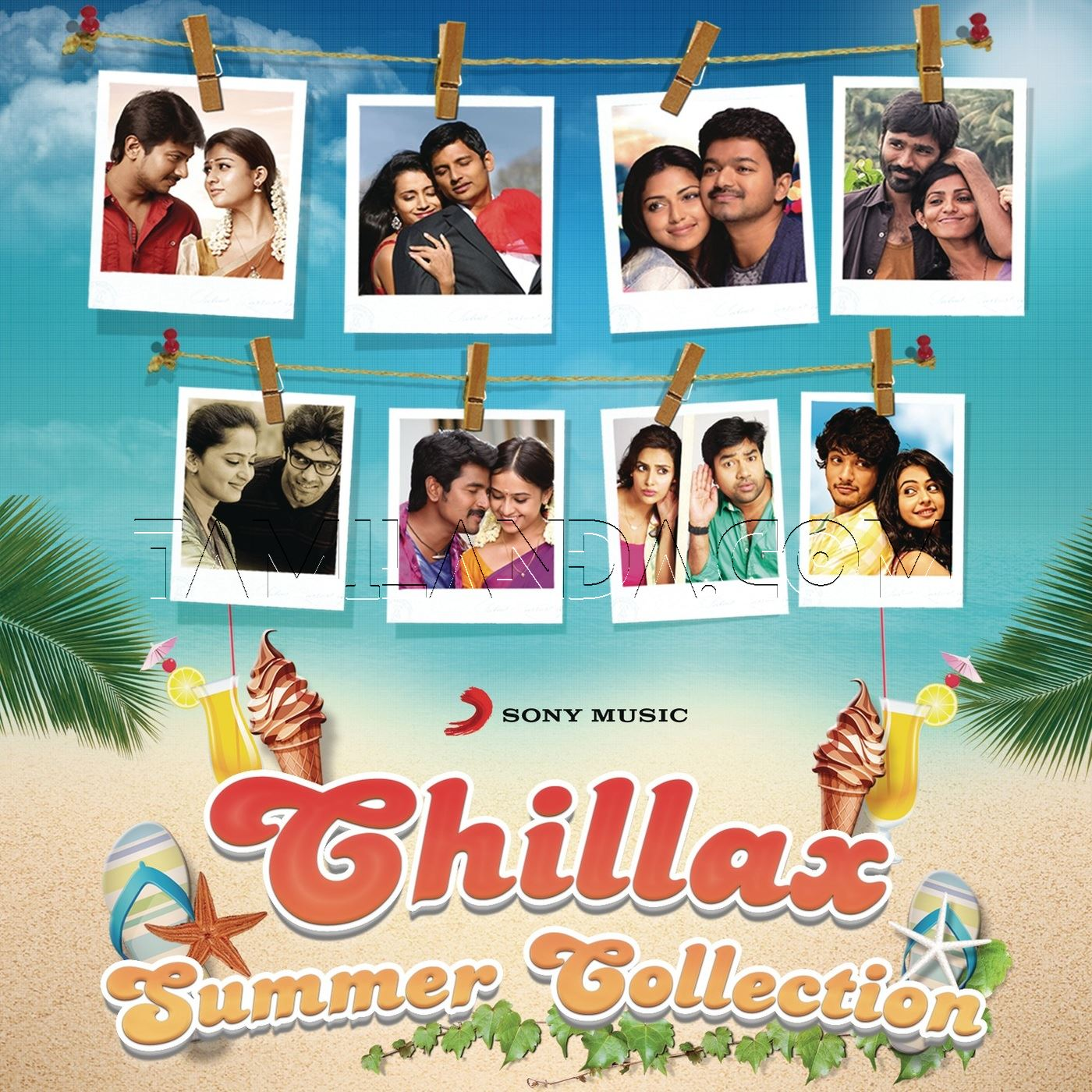 Chillax Summer Collection, Vol. 1 FLAC Songs (2014)